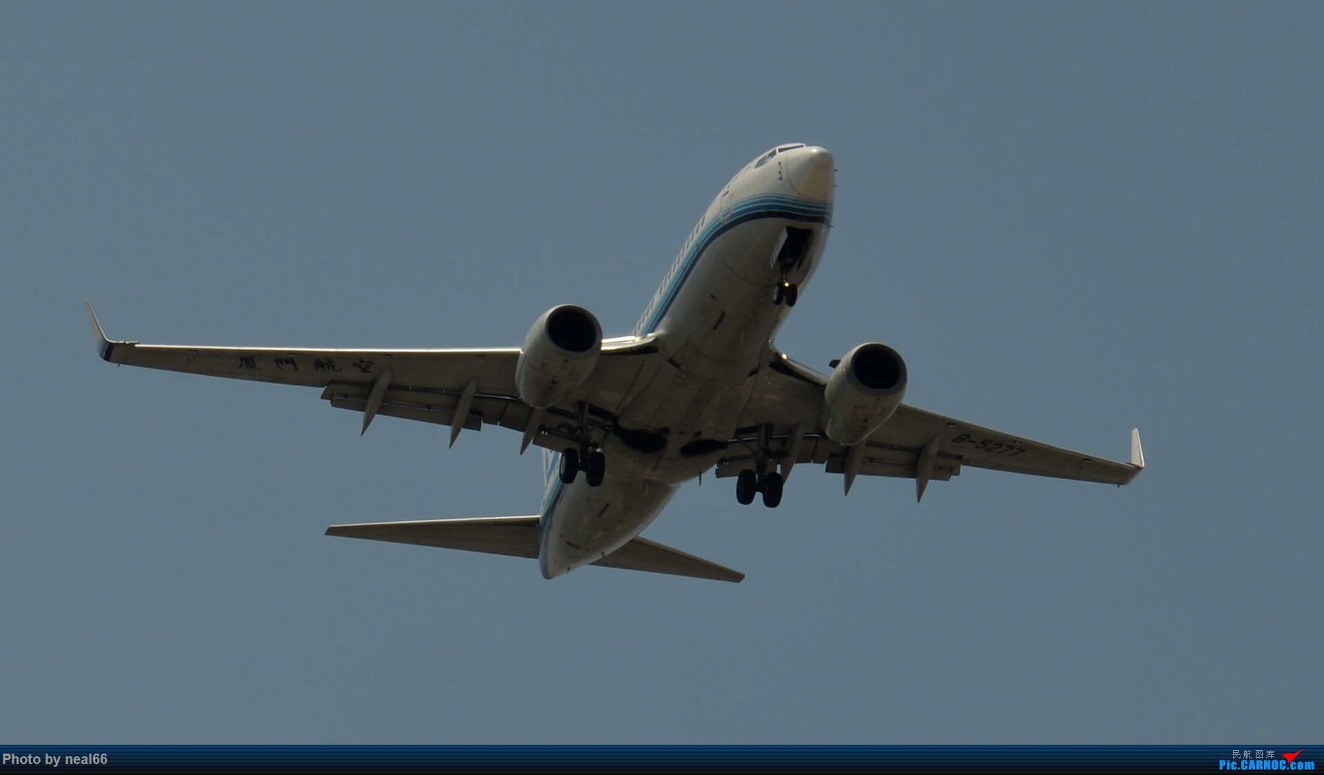 Re:[原创]好天气,试几张 BOEING 737-700 B-5277 中国厦门高崎国际机场