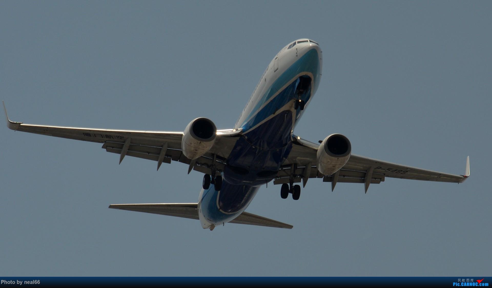 Re:[原创]好天气,试几张 BOEING 737-800 B-5489 中国厦门高崎国际机场