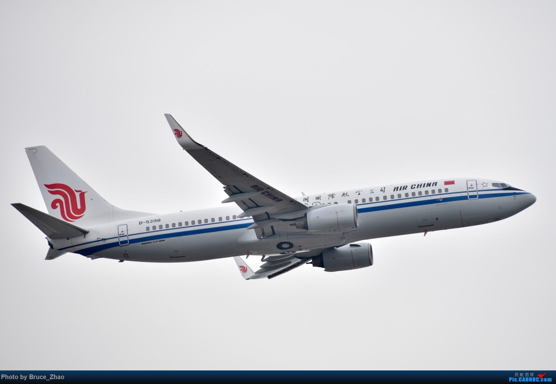 Re:[原创]CKG 拍机(一) BOEING 737-800 B-5398 中国重庆江北国际机场