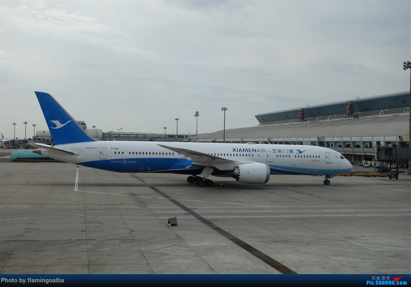 Re:[原创]NKG-PEK拍机 BOEING 787-9 B-1566 中国北京首都国际机场