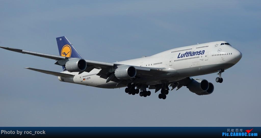 好天好机——PEK的748、380、787、757 BOEING 747-8 D-ABYM 中国北京首都国际机场