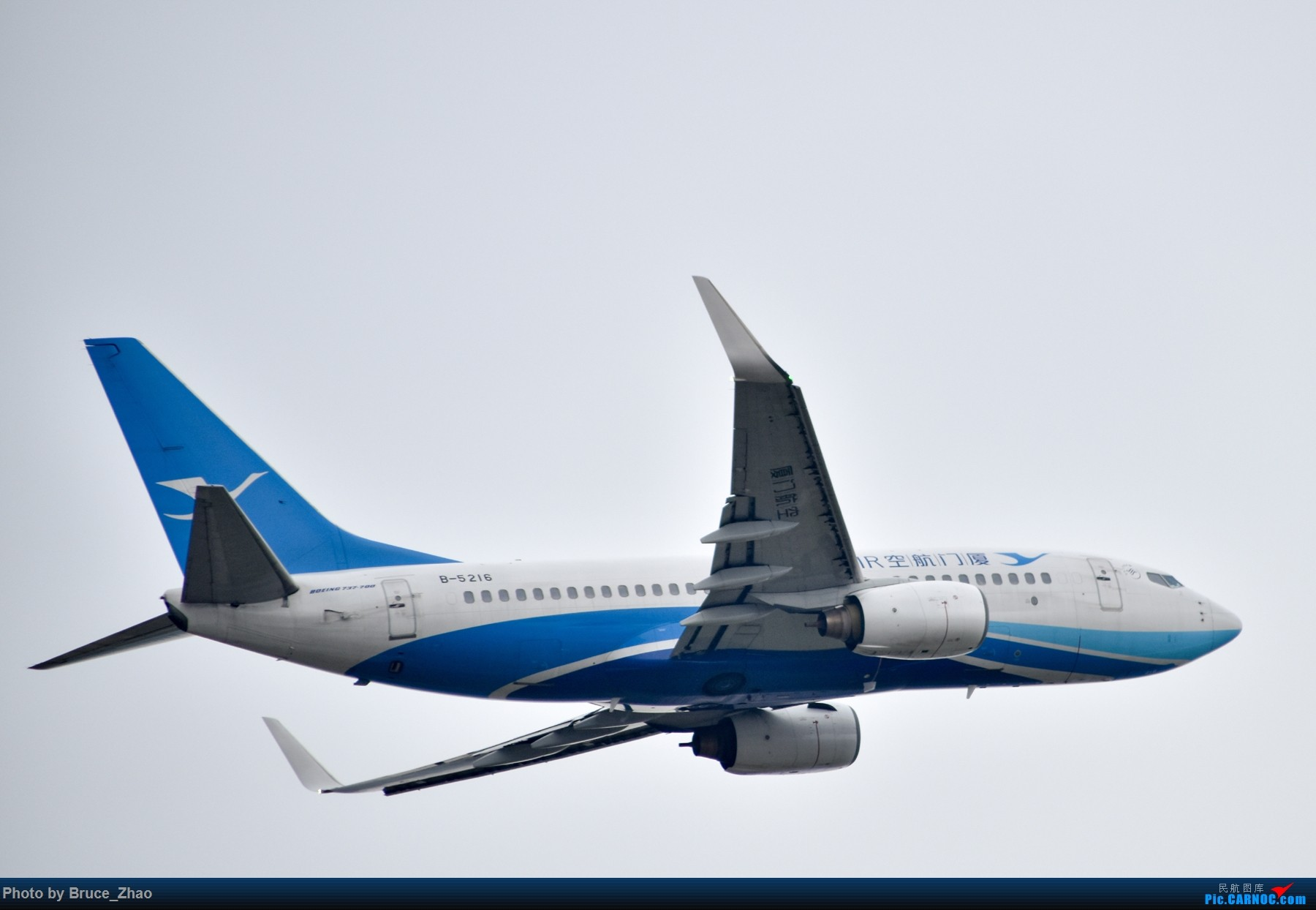 Re:[原创]CKG 拍机(一) BOEING 737-700 B-5216 中国重庆江北国际机场
