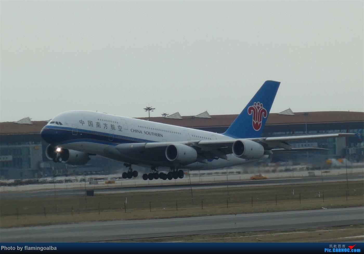 Re:[原创]NKG-PEK拍机 A380-800  中国北京首都国际机场