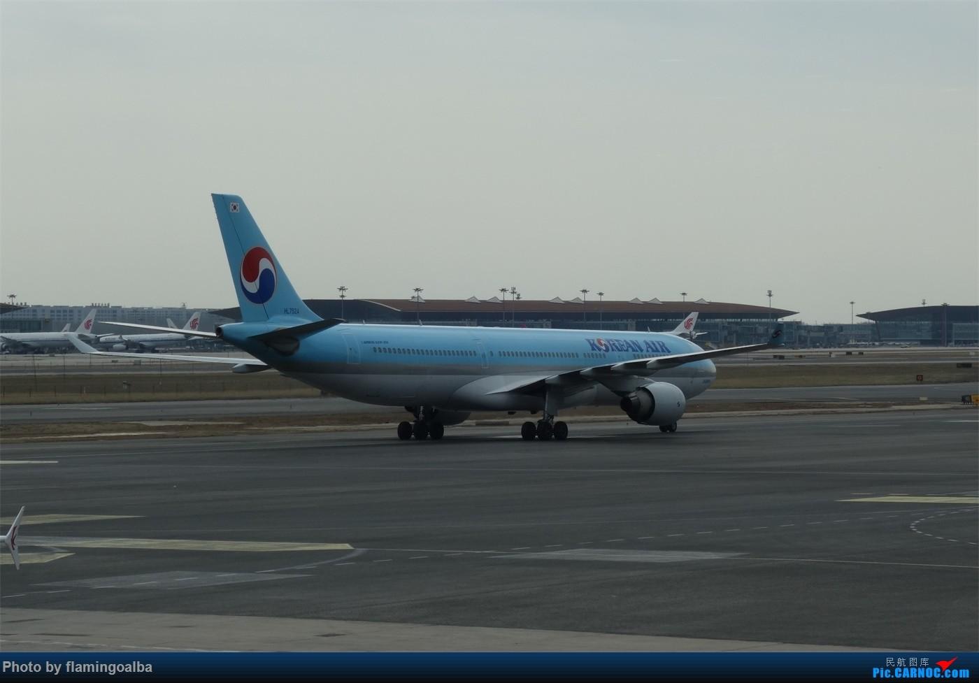 Re:[原创]NKG-PEK拍机 A330-200 HL-7524 中国北京首都国际机场