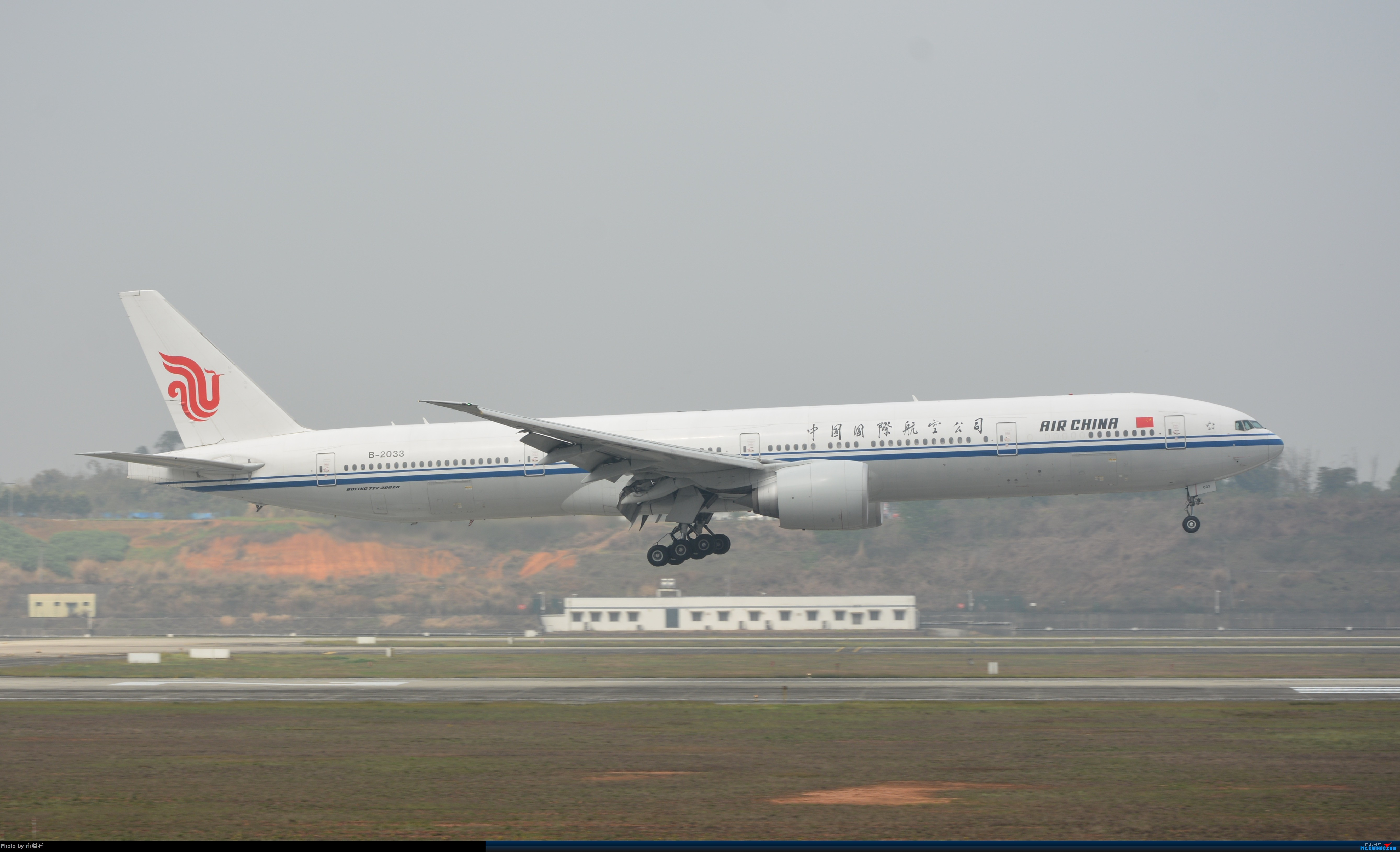 CTU 一图党 国航773 够长 BOEING 777-300ER B-2033 中国成都双流国际机场