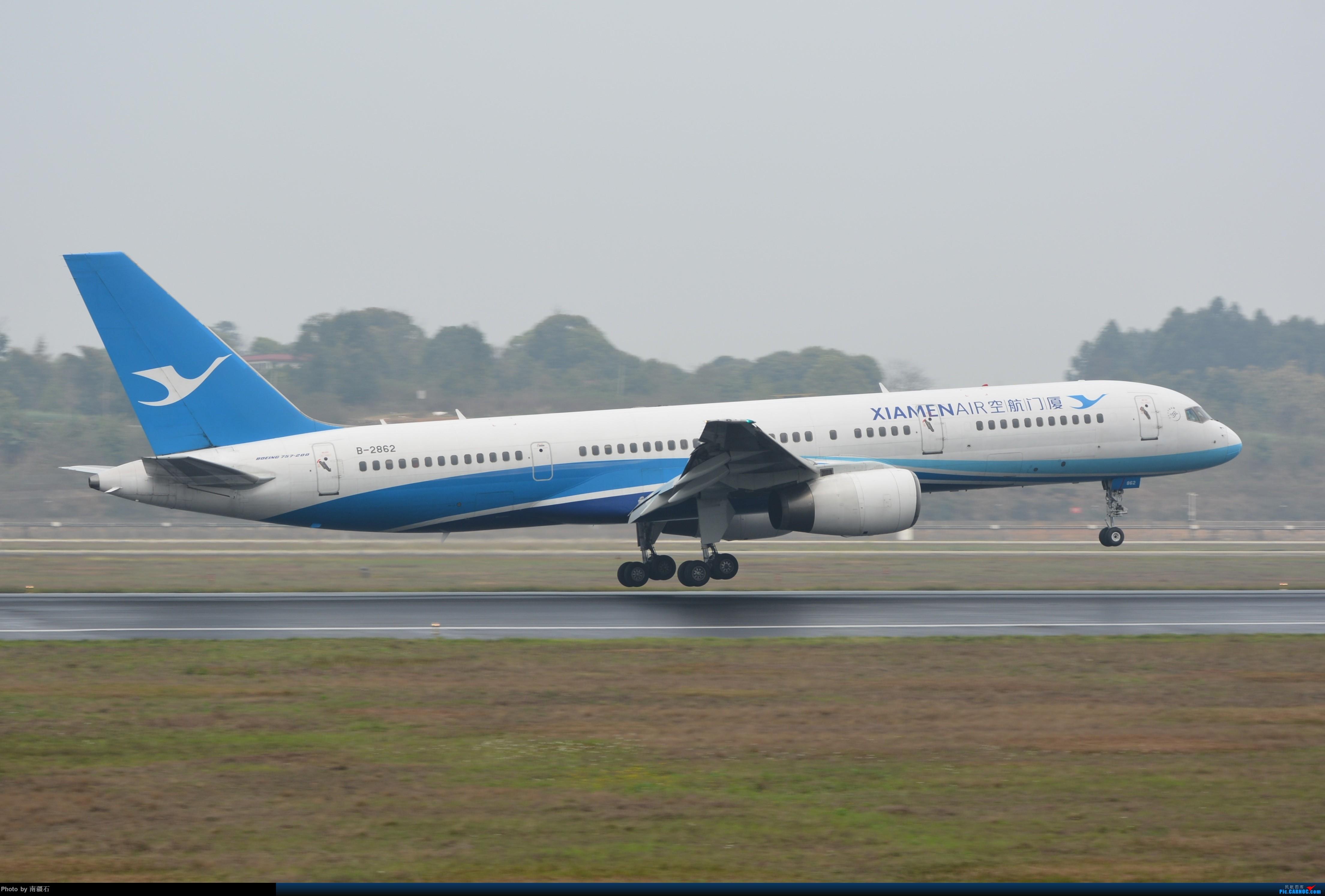 [原创]CTU 厦航757 BOEING 757-200 B-2862 中国成都双流国际机场