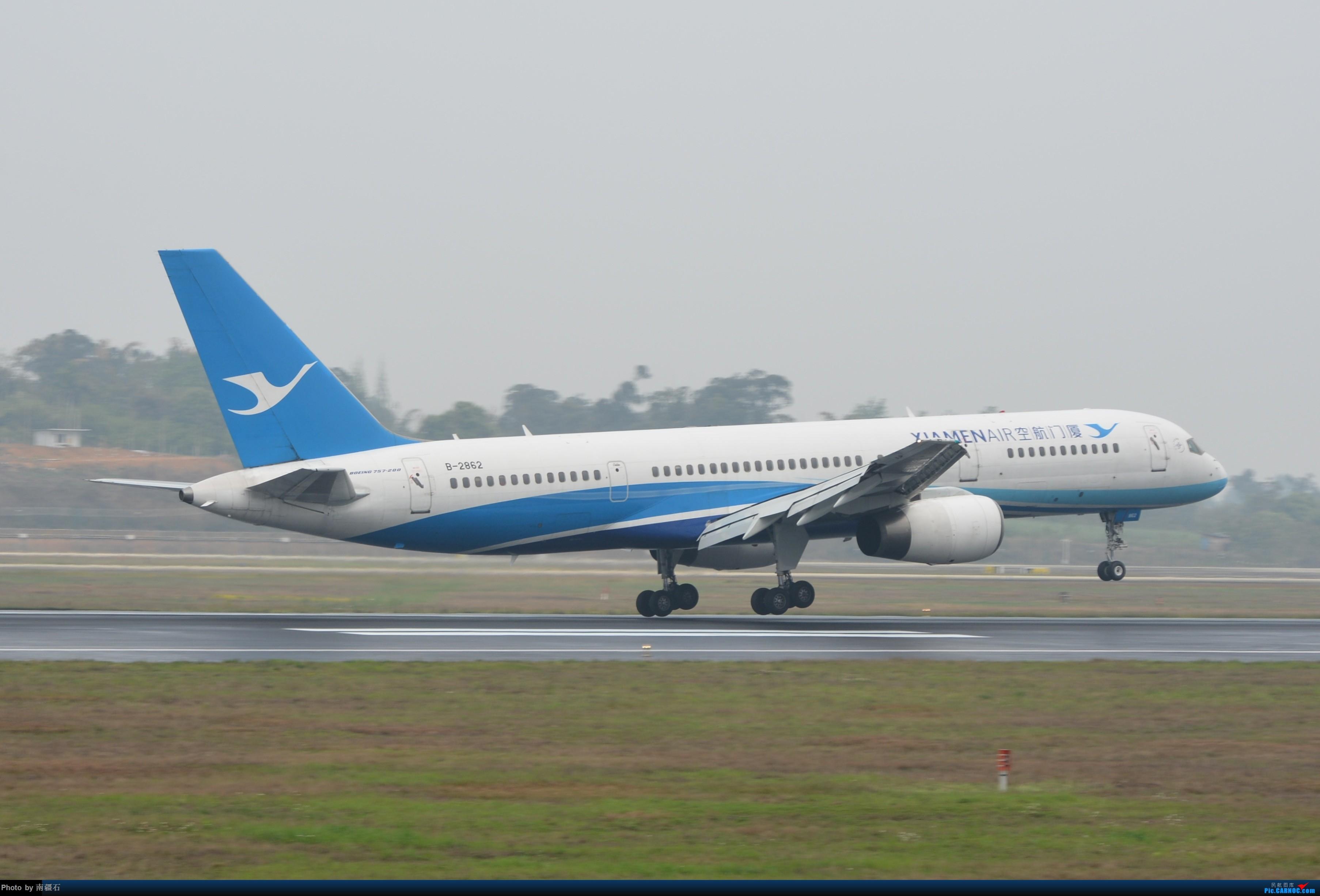Re:[原创]CTU 厦航757 BOEING 757-200 B-2862 中国成都双流国际机场