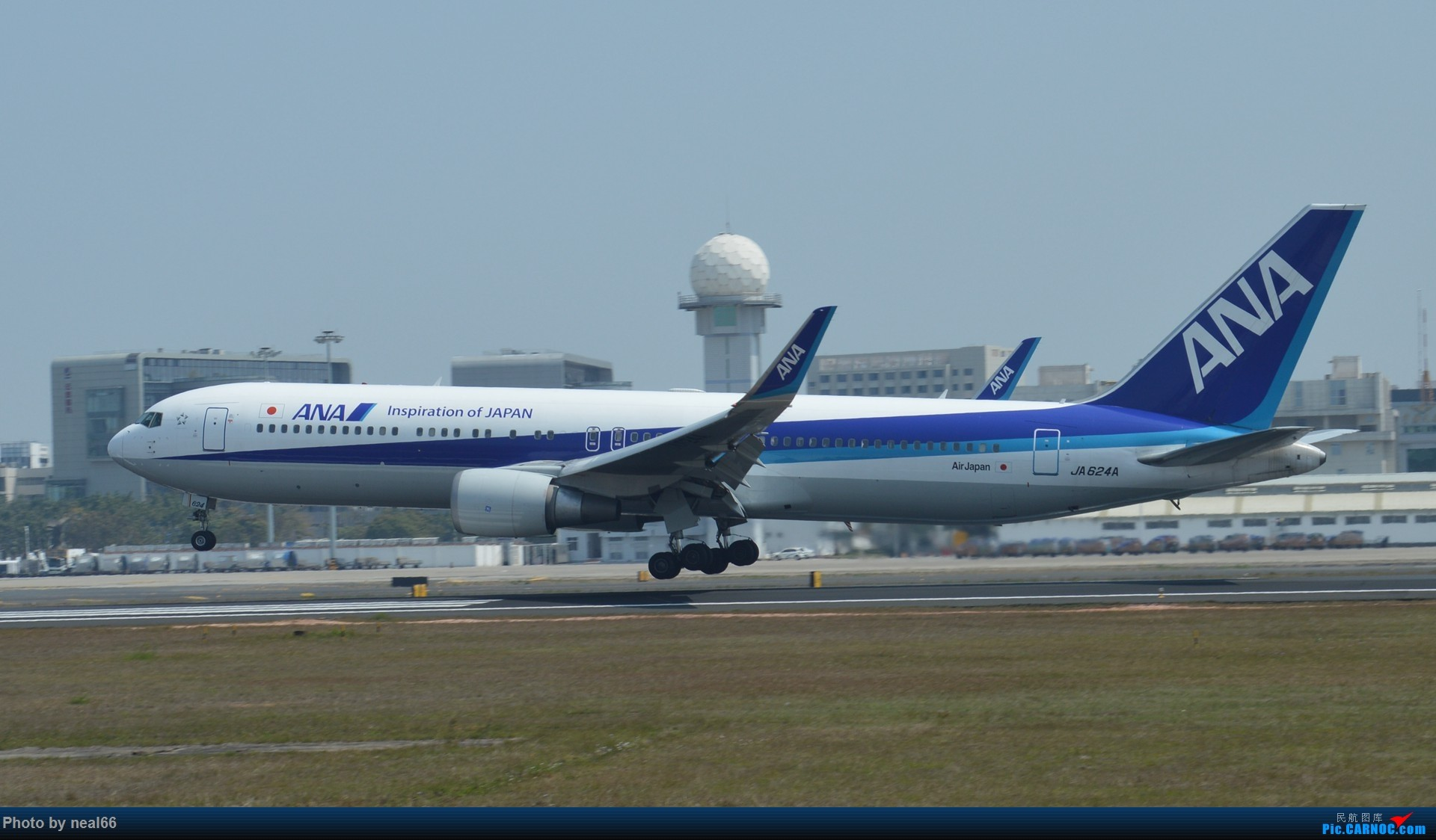 Re:[原创]厦门机场的较大飞机 767 JA624A 厦门机场