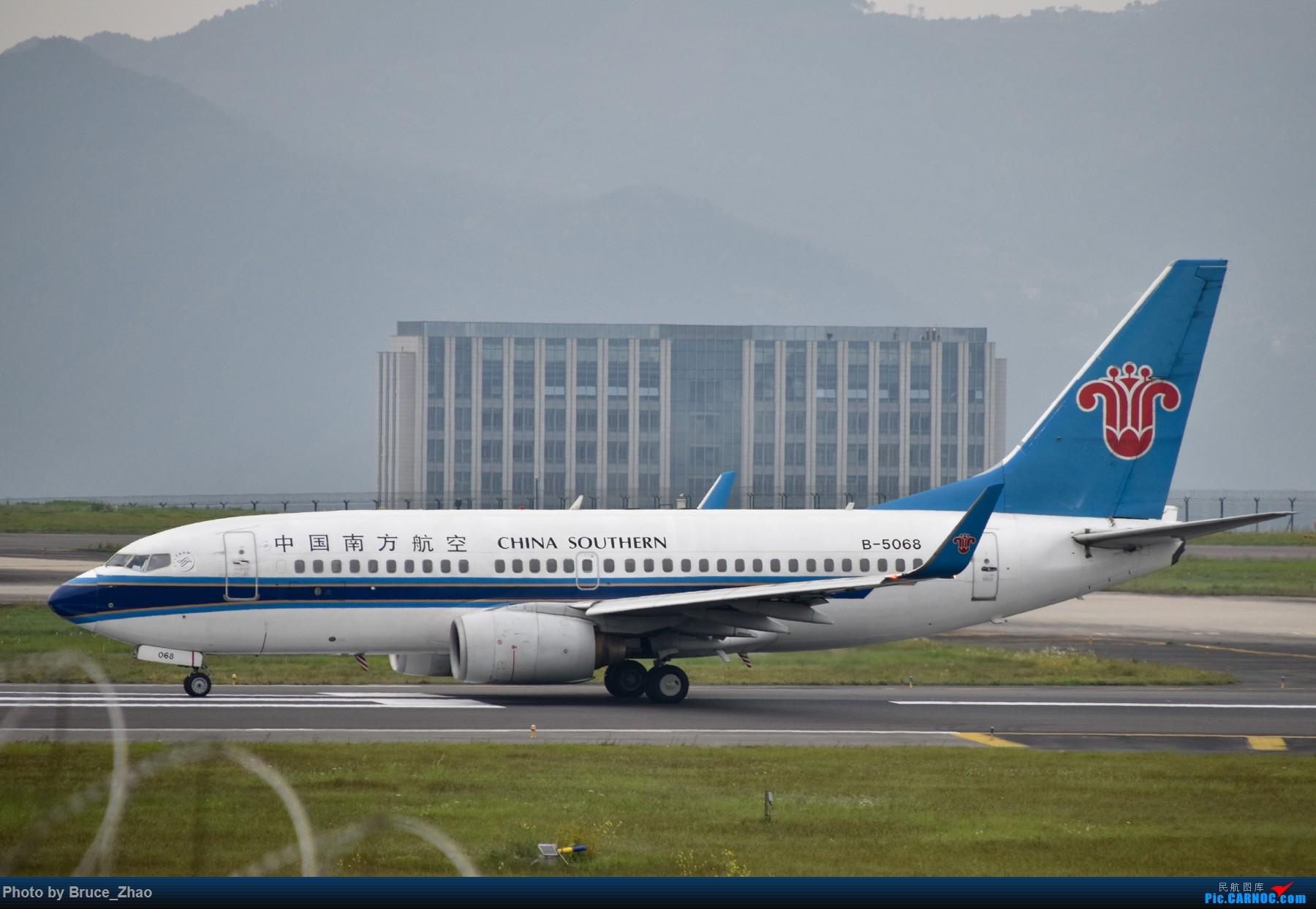 Re:[原创][CKG] 4月拍机——(2) BOEING 737-700 B-5068 中国重庆江北国际机场