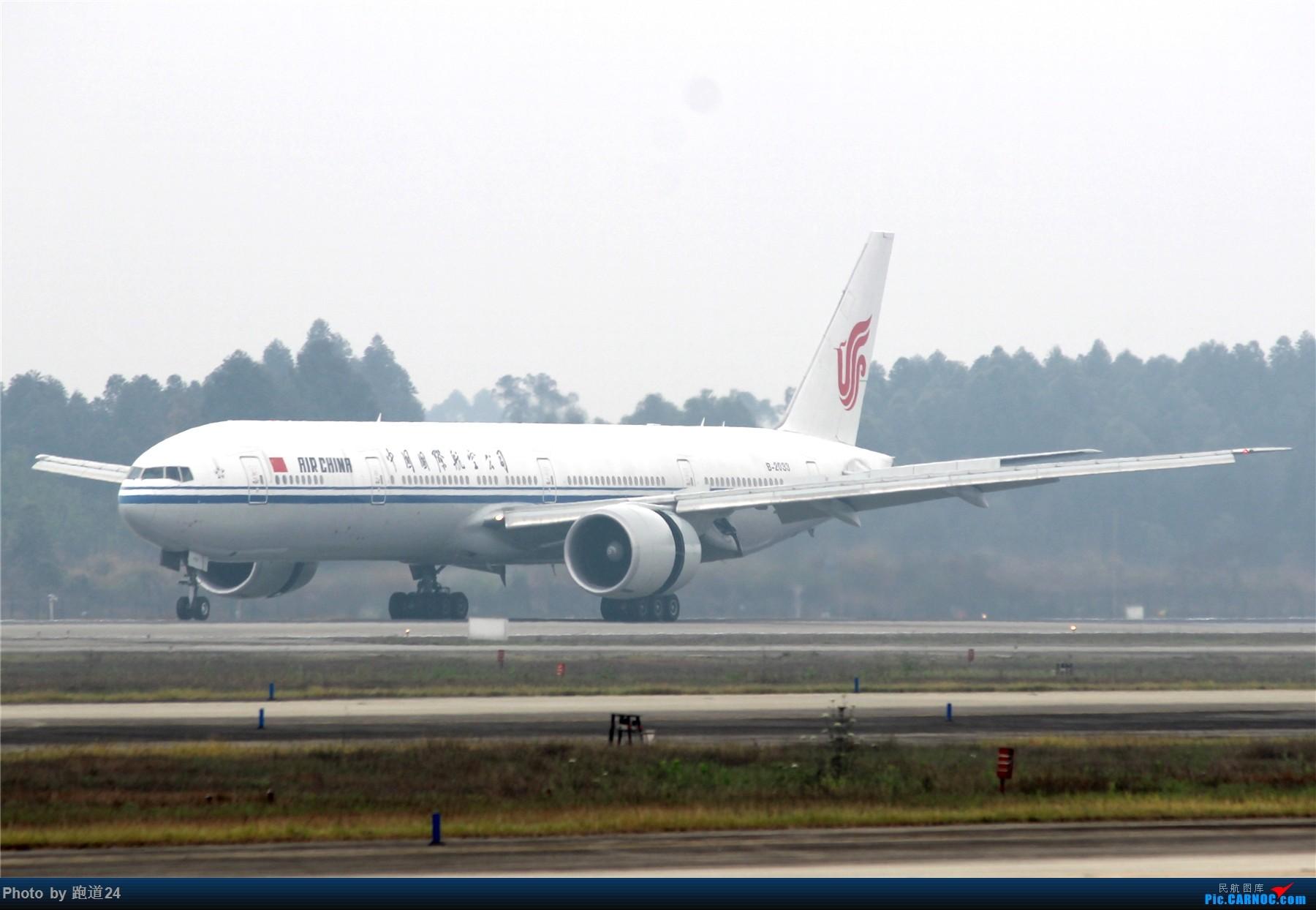 【多图党】AIR CHINA B777-39L[ER] B-2033 1800*1200 BOEING 777-300ER B-2033 中国成都双流国际机场