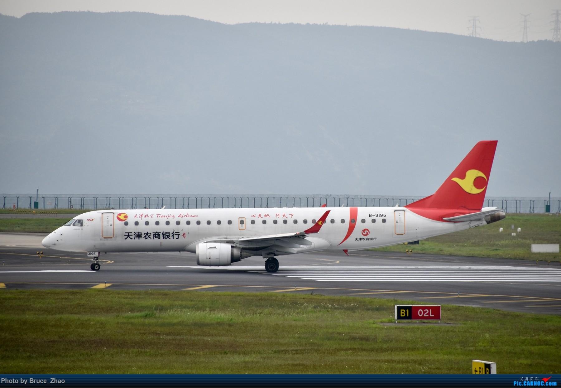 Re:[原创][CKG] 4月拍机——(2) EMBRAER E-190 B-3195 中国重庆江北国际机场