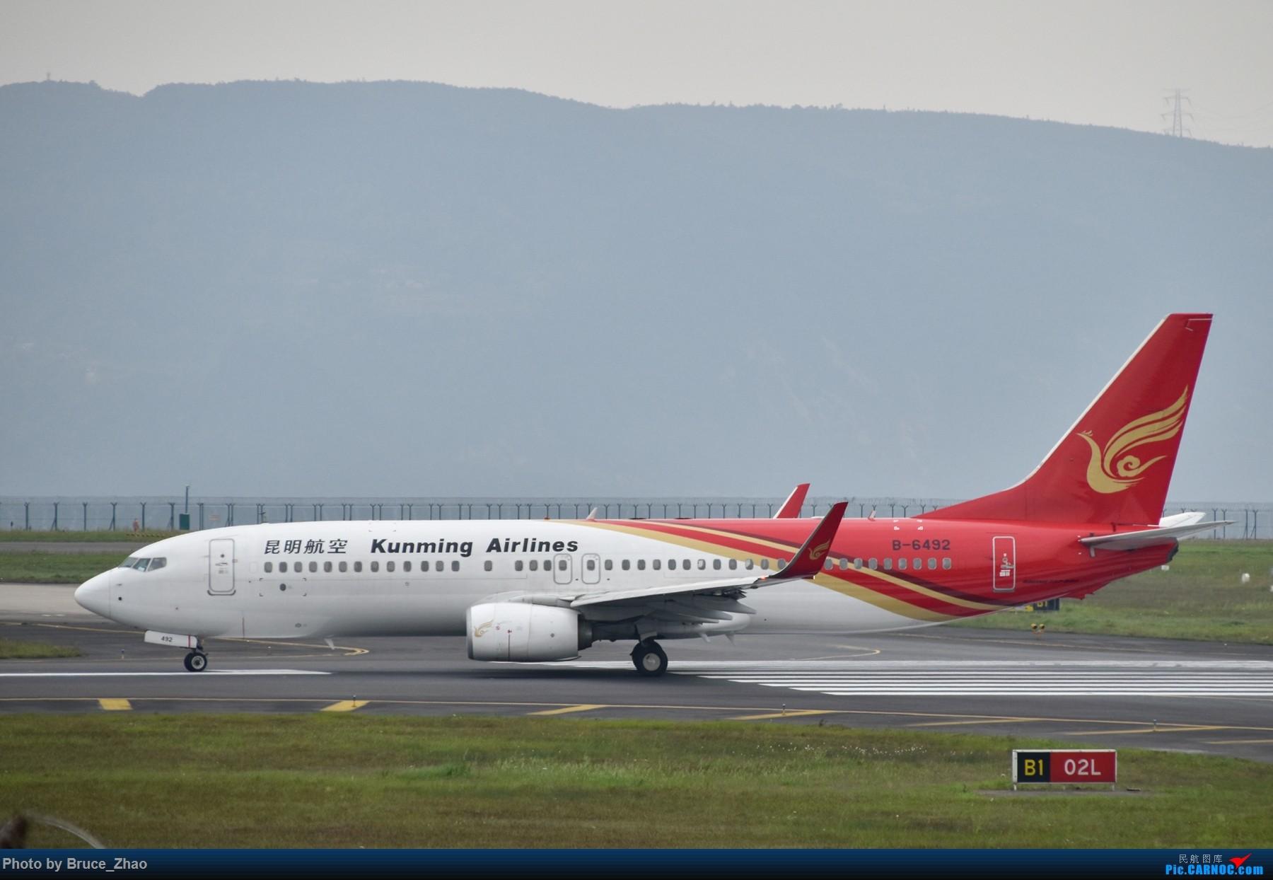 Re:[原创][CKG] 4月拍机——(2) BOEING 737-800 B-6492 中国重庆江北国际机场