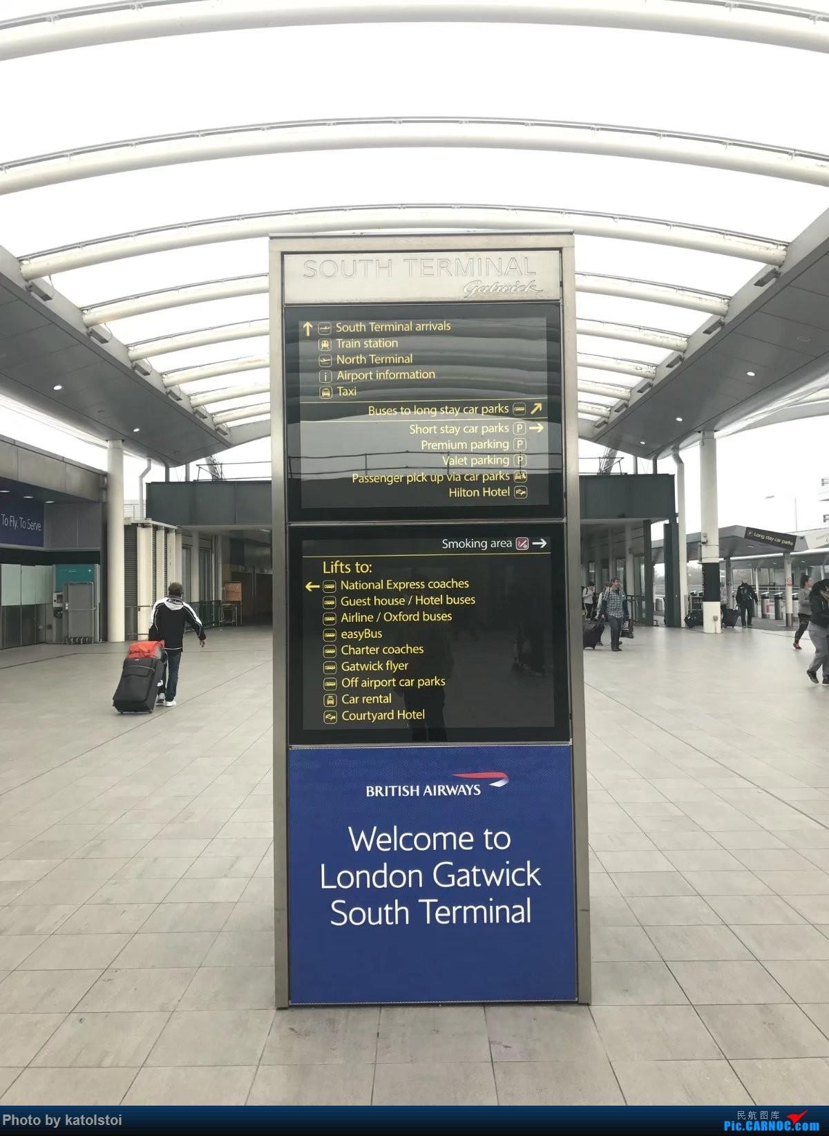 [原创]【XMN飞友会小k】飘到欧洲的尽头看非洲~直布罗陀游玩~    英国盖特威克机场