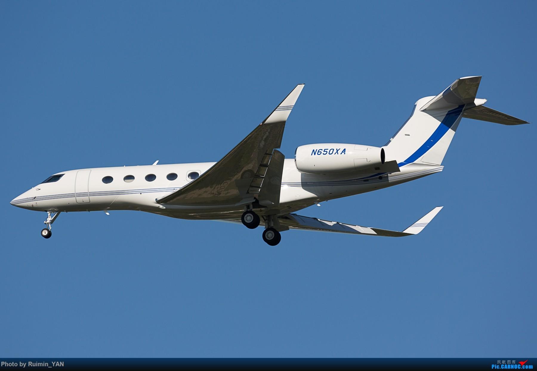 Re:【PEK】【公务机】阿拉伯-美国石油公司(Saudi Aramco Aviation) N650XA,湾流Gulfstream G650 GULFSTREAM G650 N650XA 中国北京首都国际机场