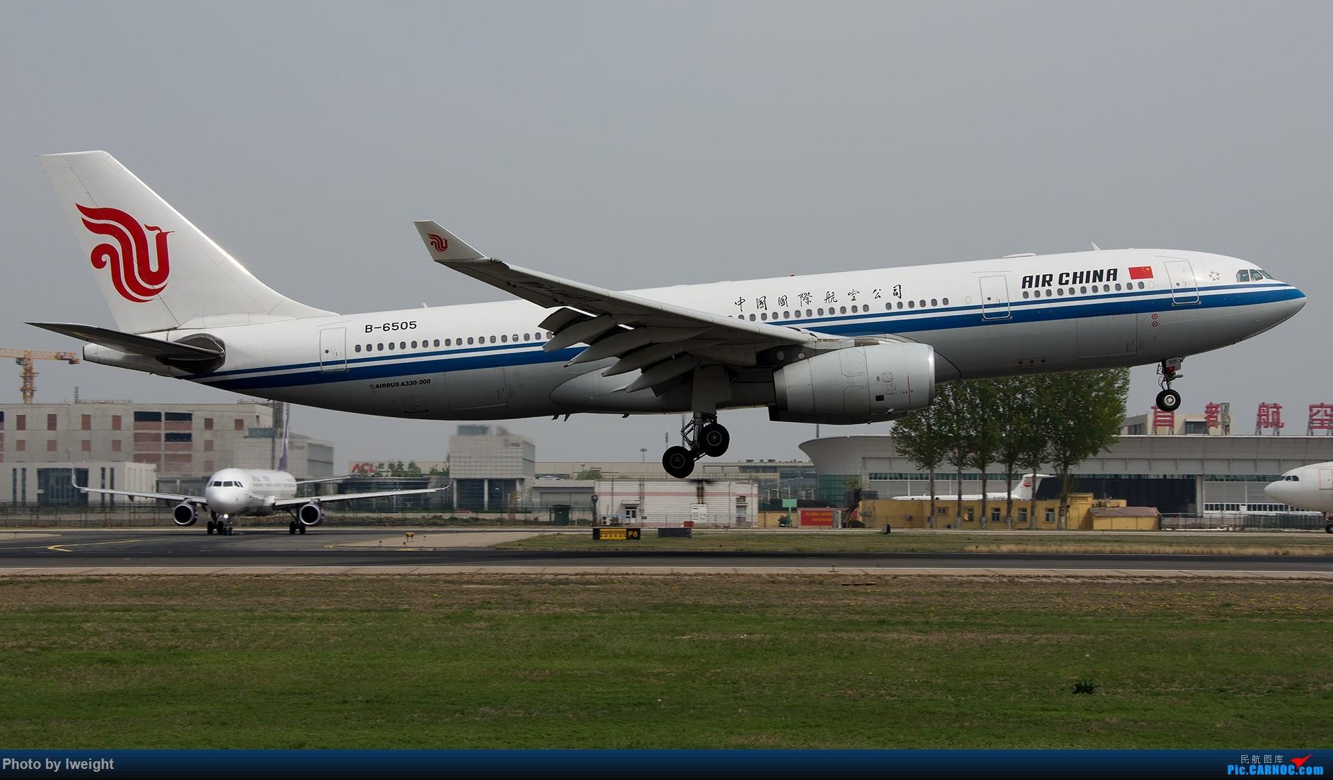 [原创]霾,18R,高密度 AIRBUS A330-200 B-6505 中国北京首都国际机场