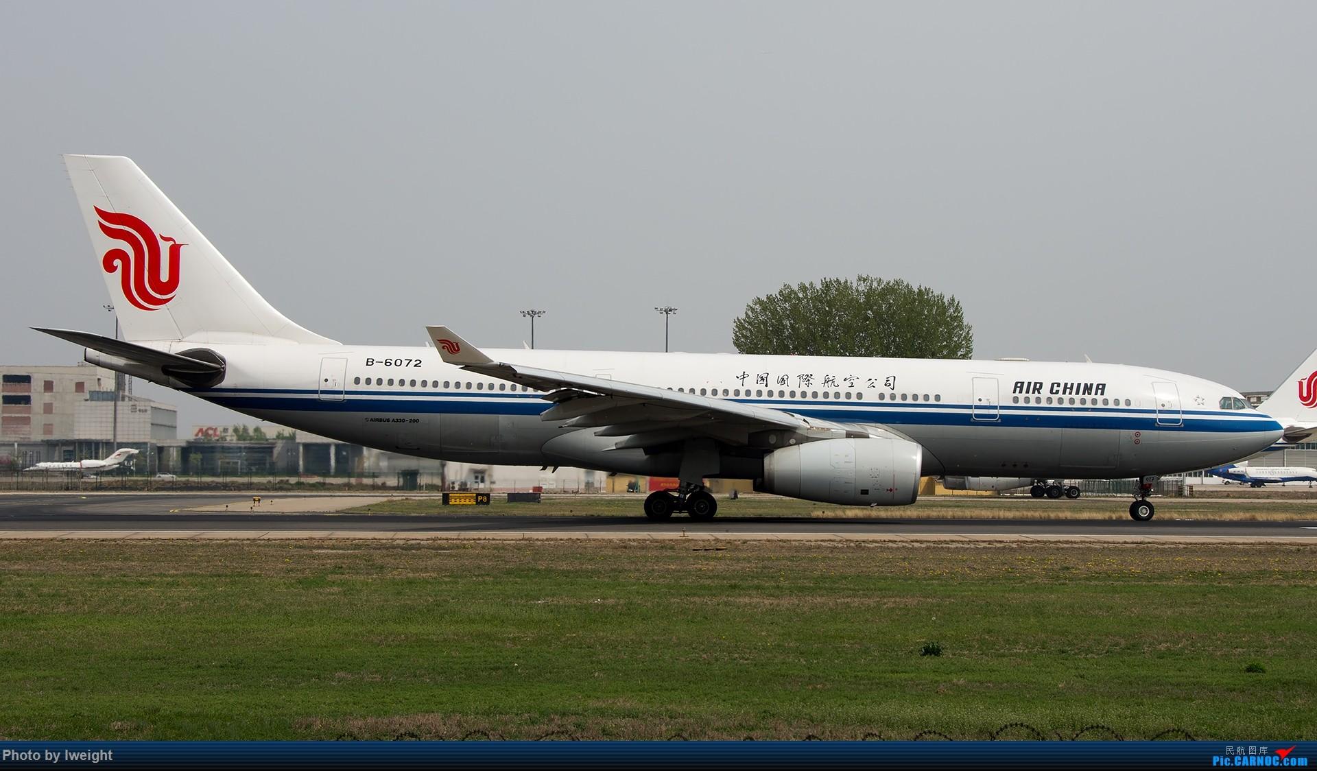 Re:[原创]霾,18R,高密度 AIRBUS A330-200 B-6072 中国北京首都国际机场