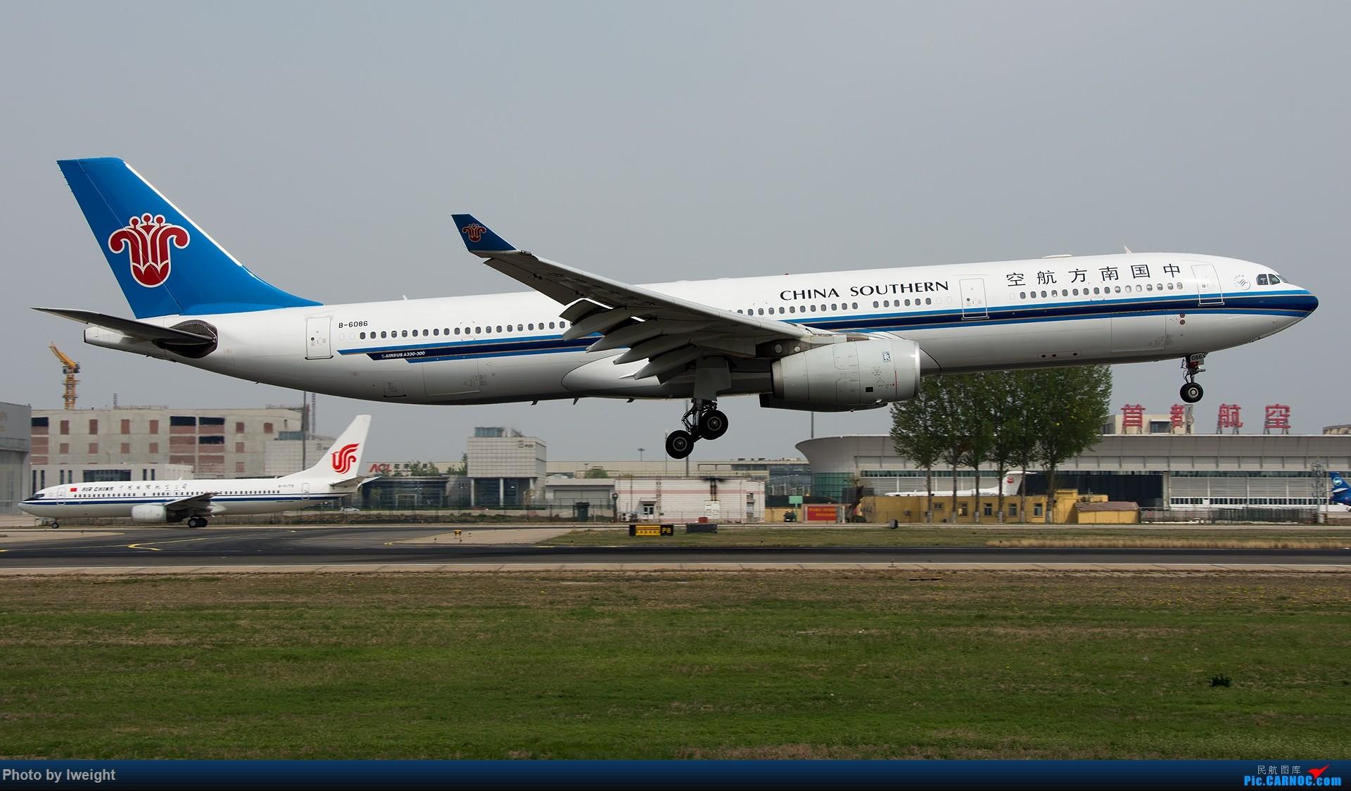 Re:[原创]霾,18R,高密度 AIRBUS A330-300 B-6086 中国北京首都国际机场