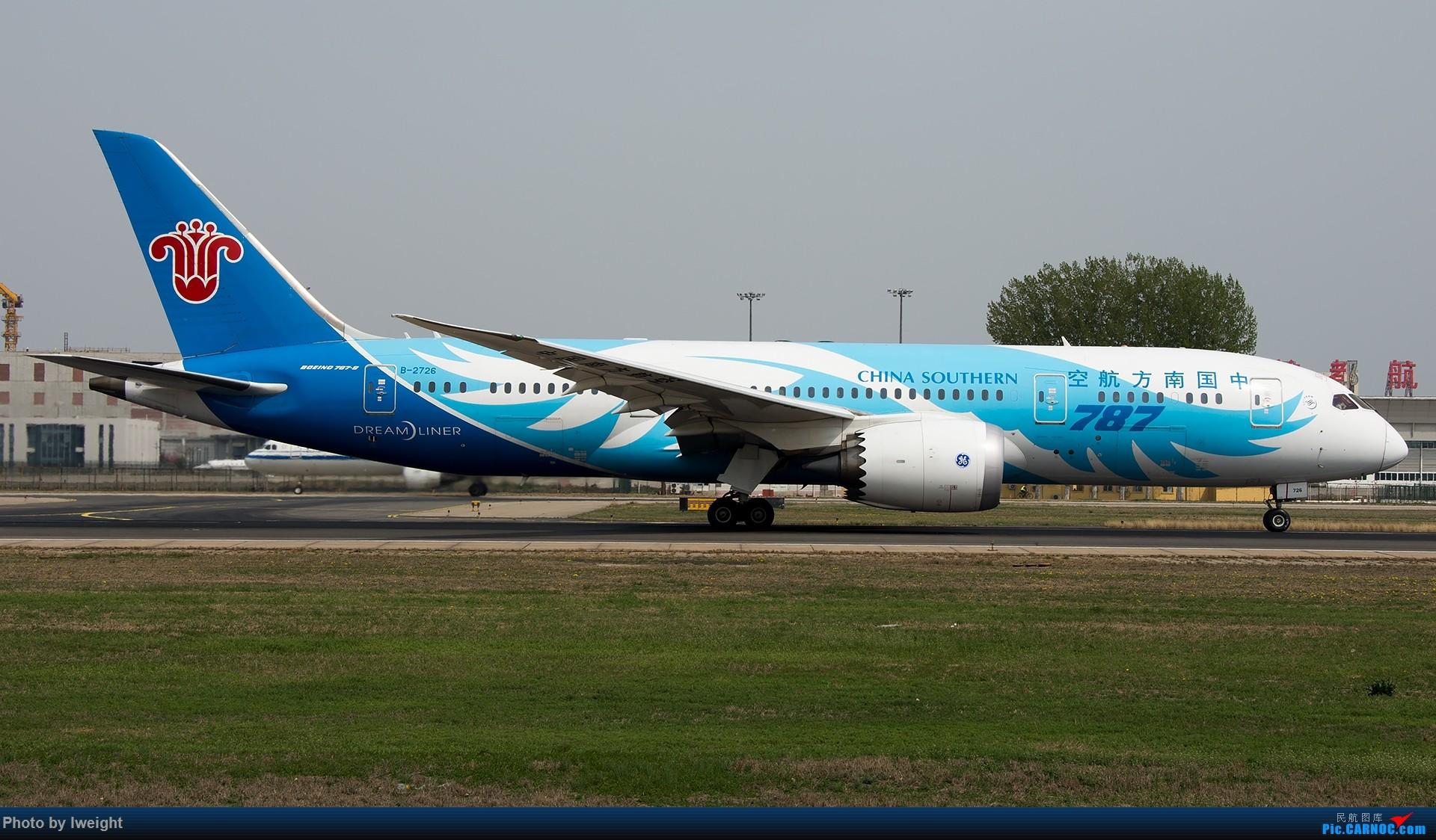 Re:[原创]霾,18R,高密度 BOEING 787-8 B-2726 中国北京首都国际机场