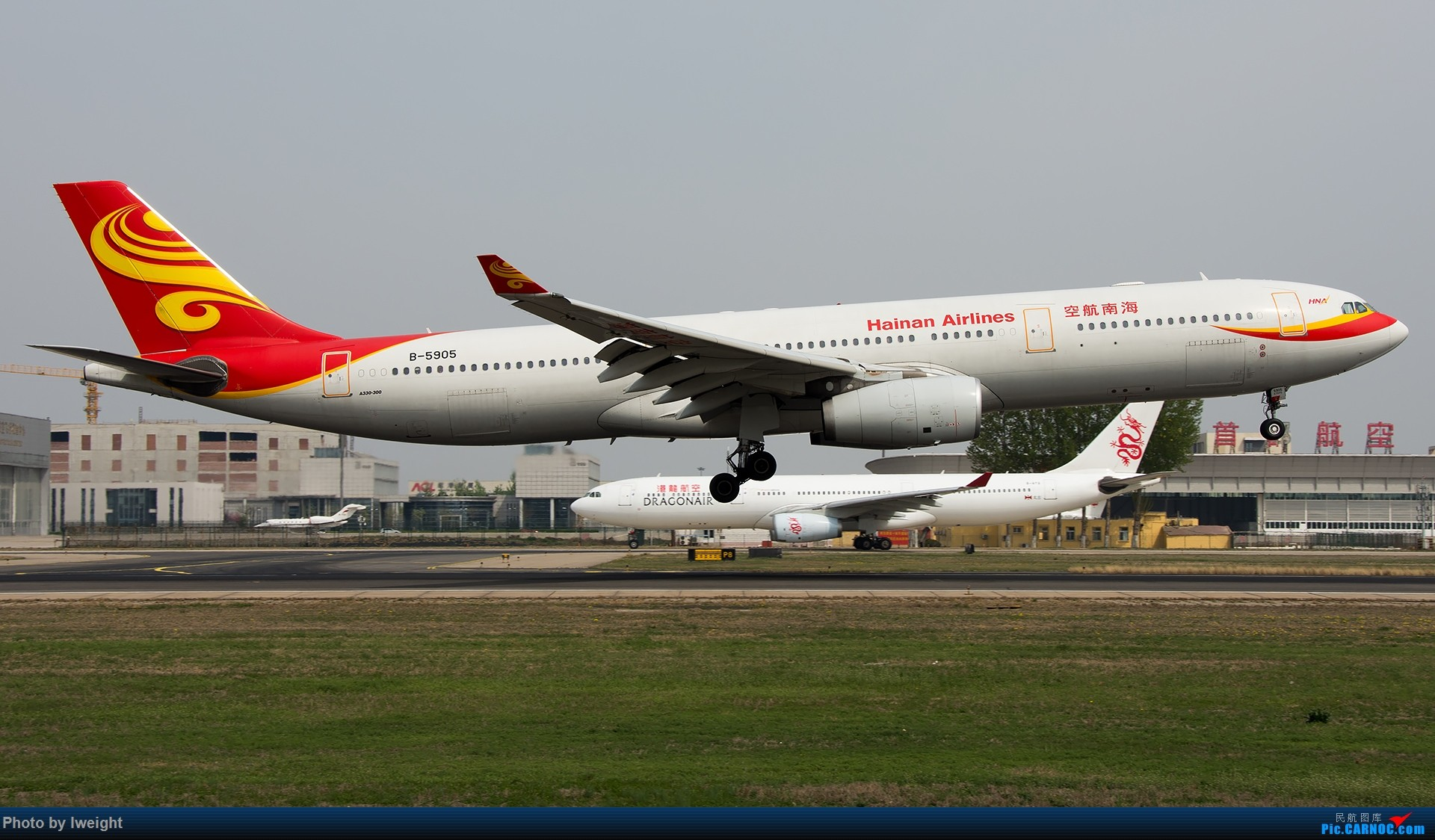 Re:[原创]霾,18R,高密度 AIRBUS A330-300 B-5905 中国北京首都国际机场