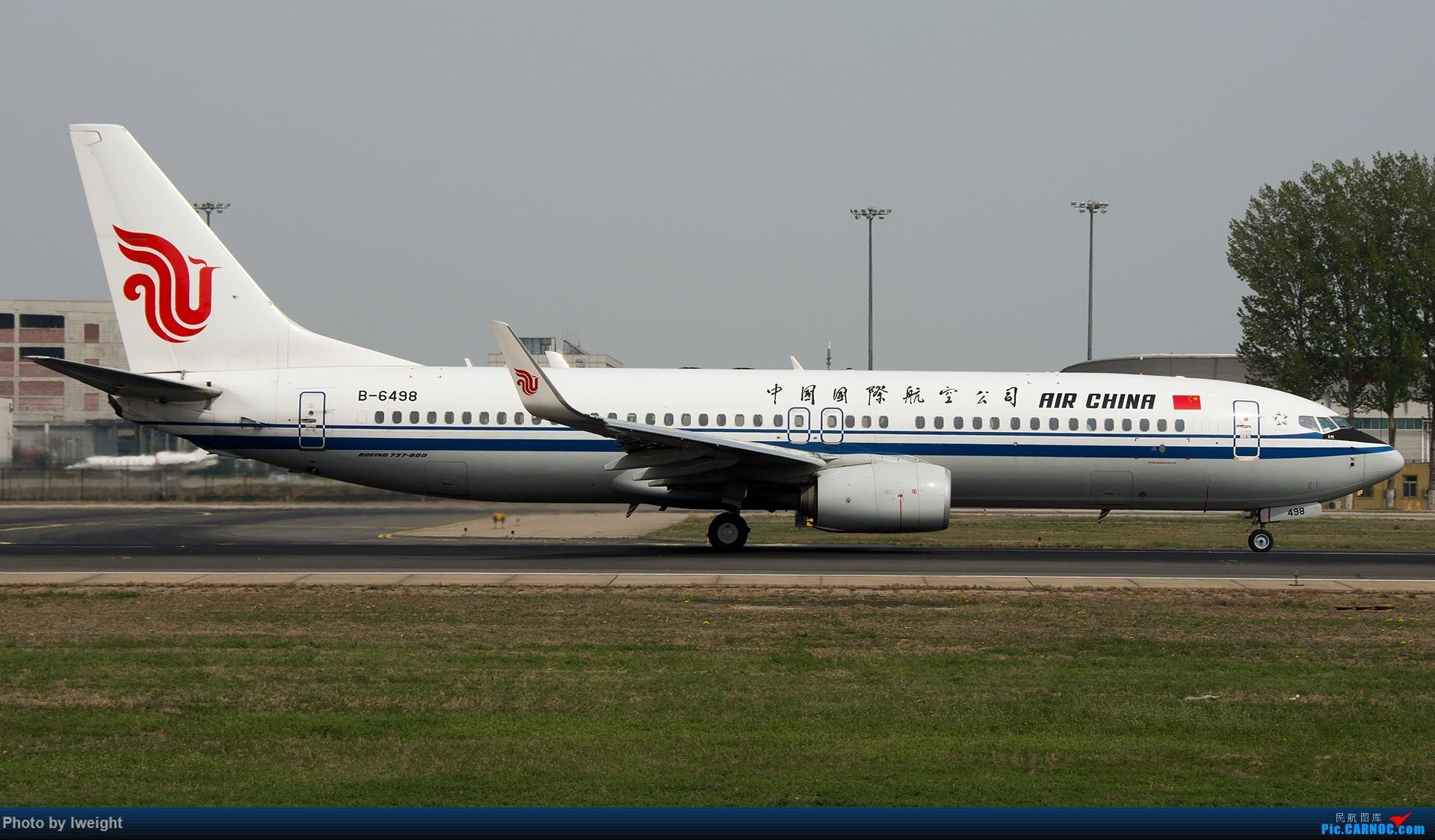 Re:[原创]霾,18R,高密度 BOEING 737-800 B-6498 中国北京首都国际机场