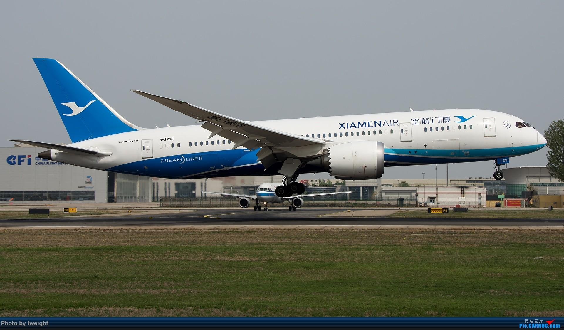 Re:[原创]霾,18R,高密度 BOEING 787-8 B-2768 中国北京首都国际机场