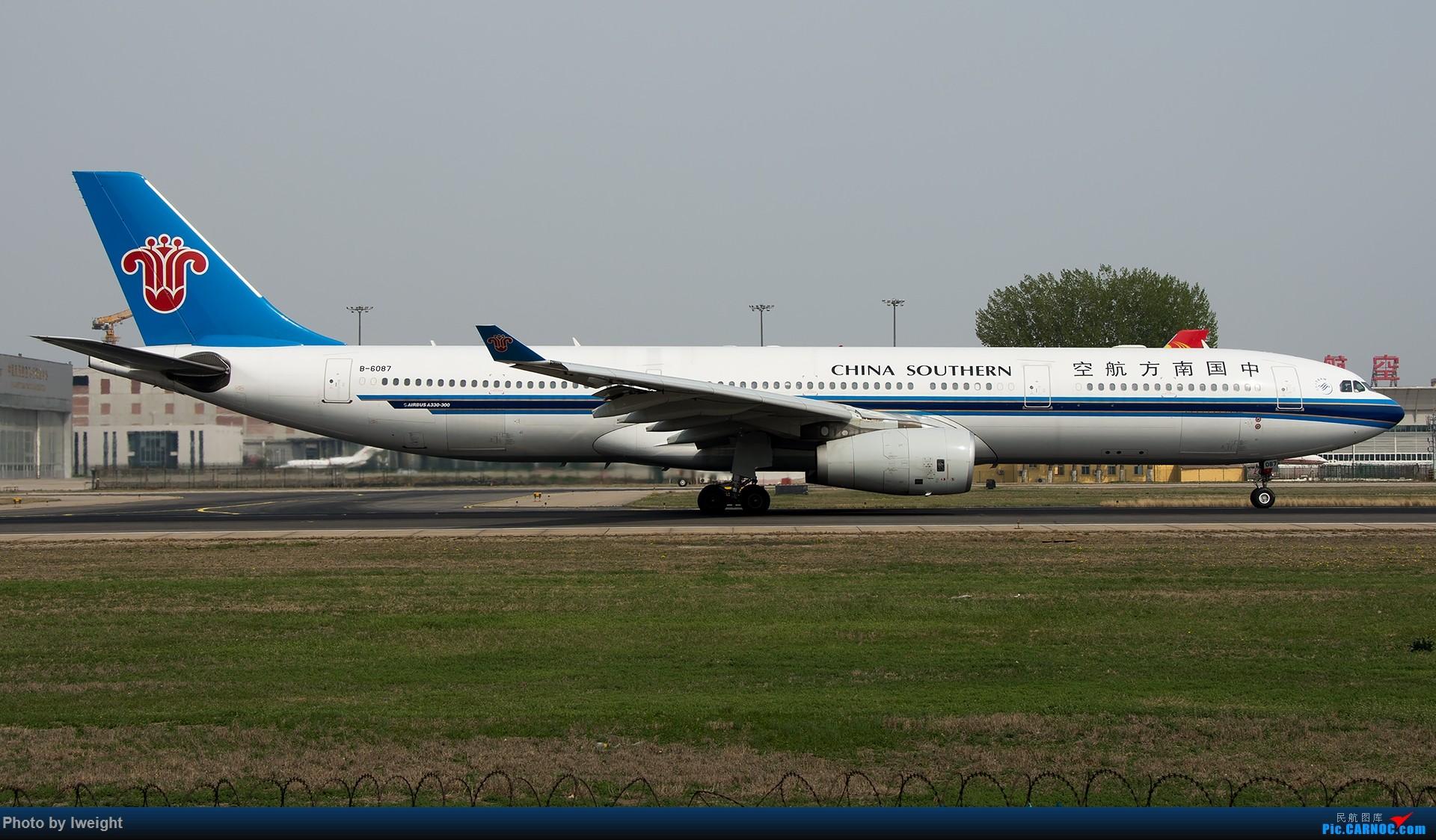 Re:[原创]霾,18R,高密度 AIRBUS A330-300 B-6087 中国北京首都国际机场