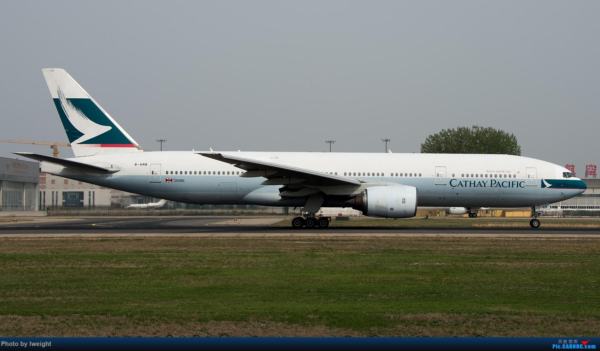 Re:[原创]霾,18R,高密度 BOEING 777-200 B-HNB 中国北京首都国际机场