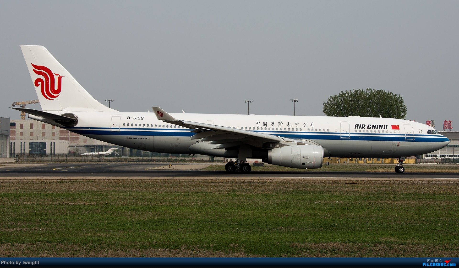 Re:[原创]霾,18R,高密度 AIRBUS A330-200 B-6132 中国北京首都国际机场