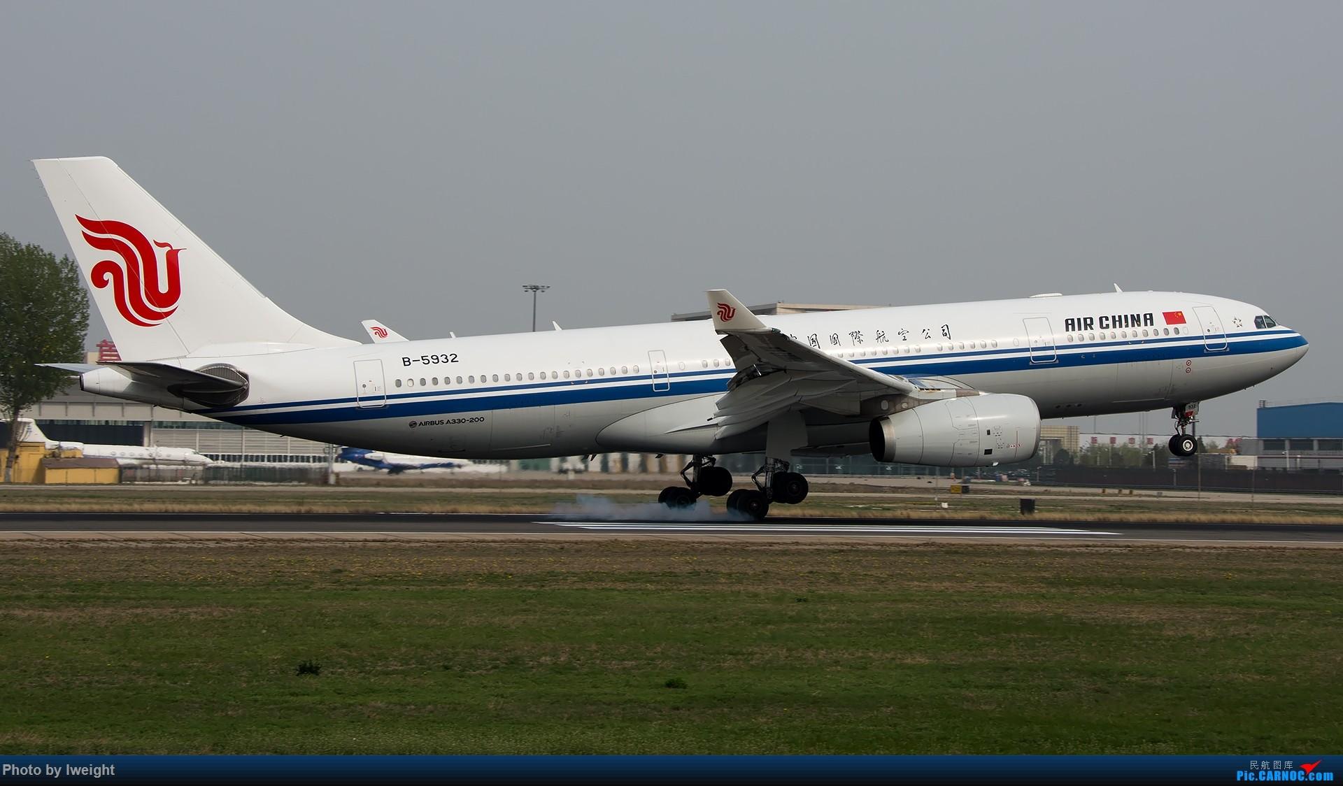 Re:[原创]霾,18R,高密度 AIRBUS A330-200 B-5932 中国北京首都国际机场