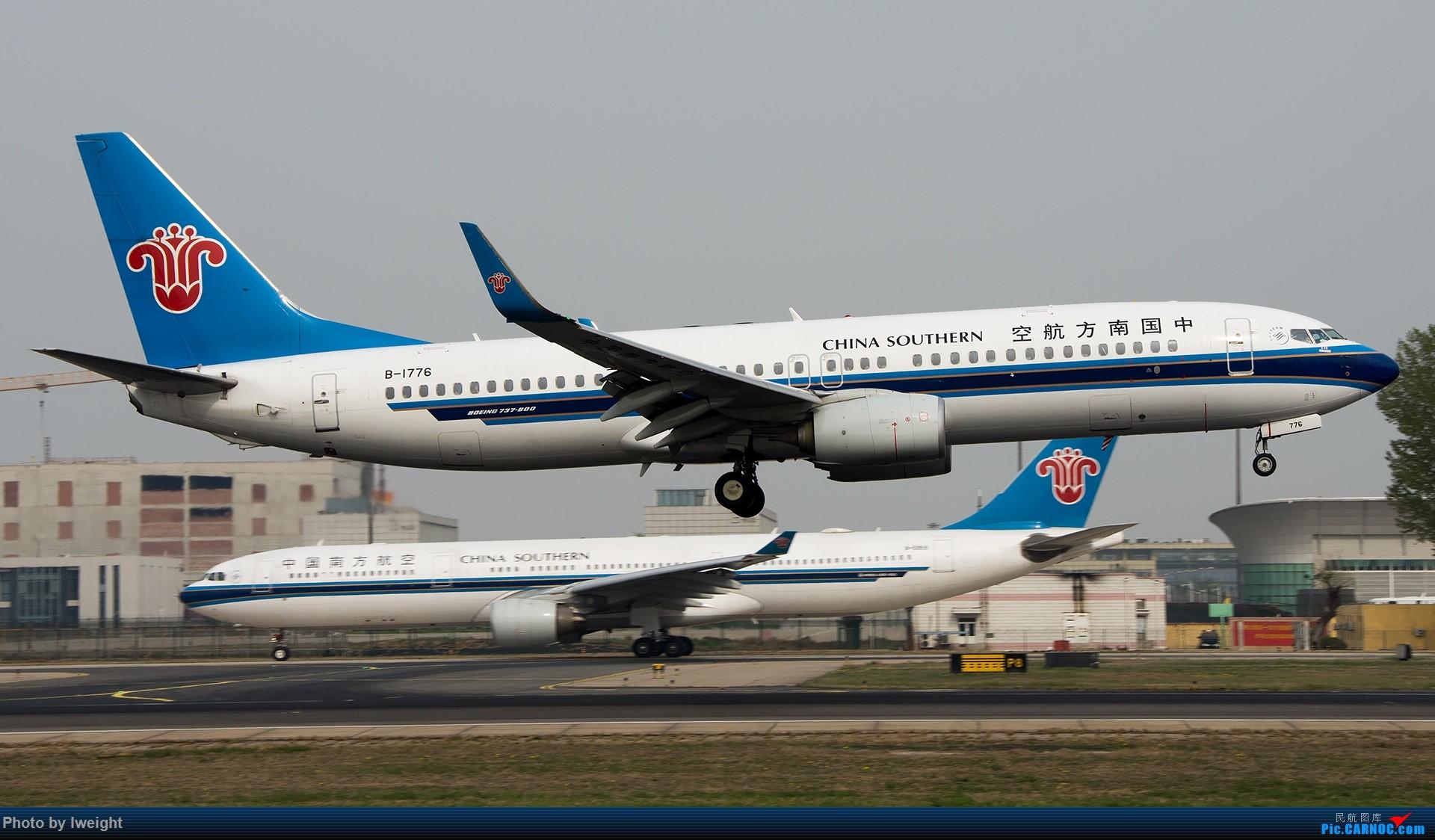 Re:[原创]霾,18R,高密度 BOEING 737-800 B-1776 中国北京首都国际机场
