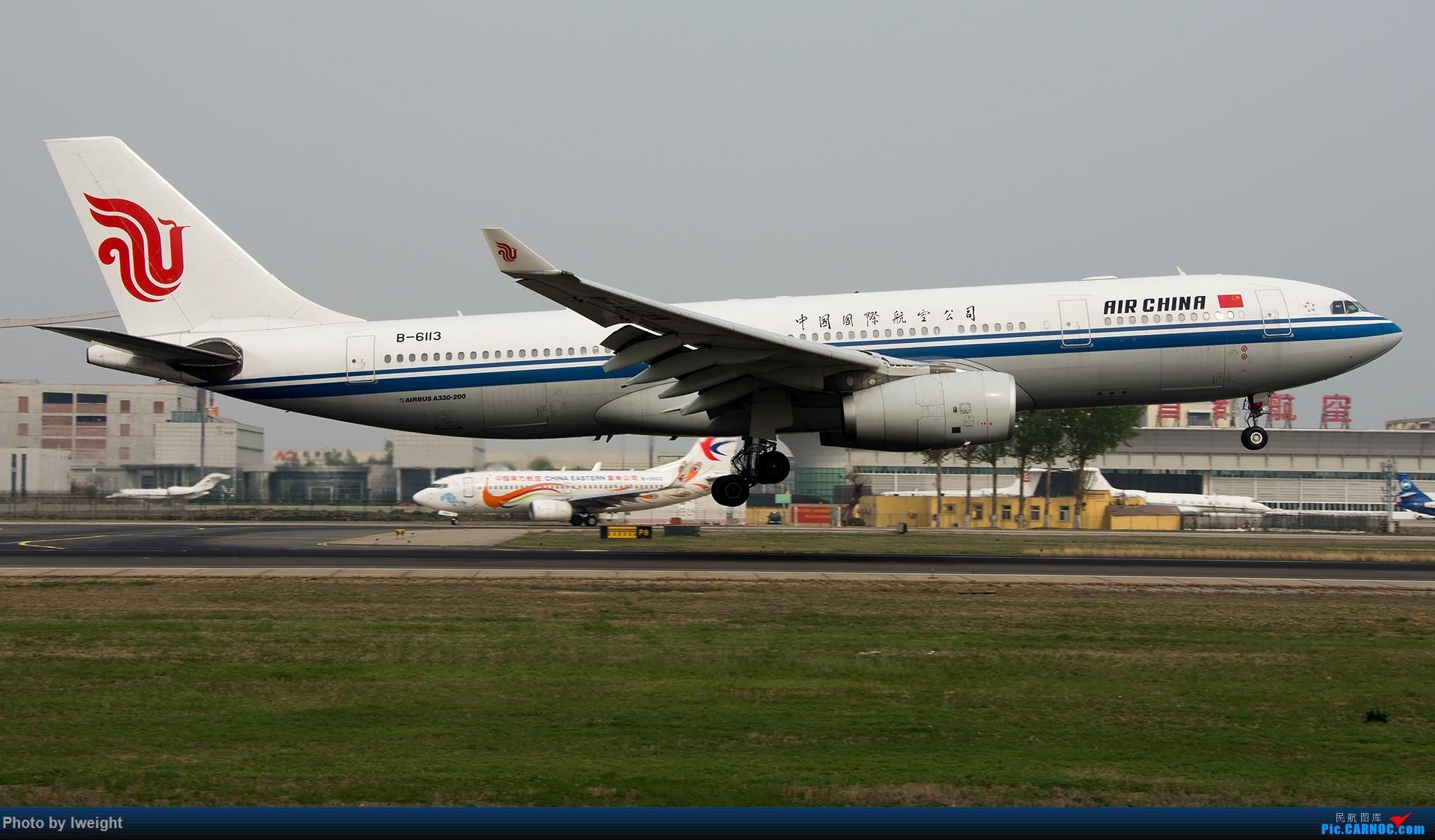 Re:[原创]霾,18R,高密度 AIRBUS A330-200 B-6113 中国北京首都国际机场