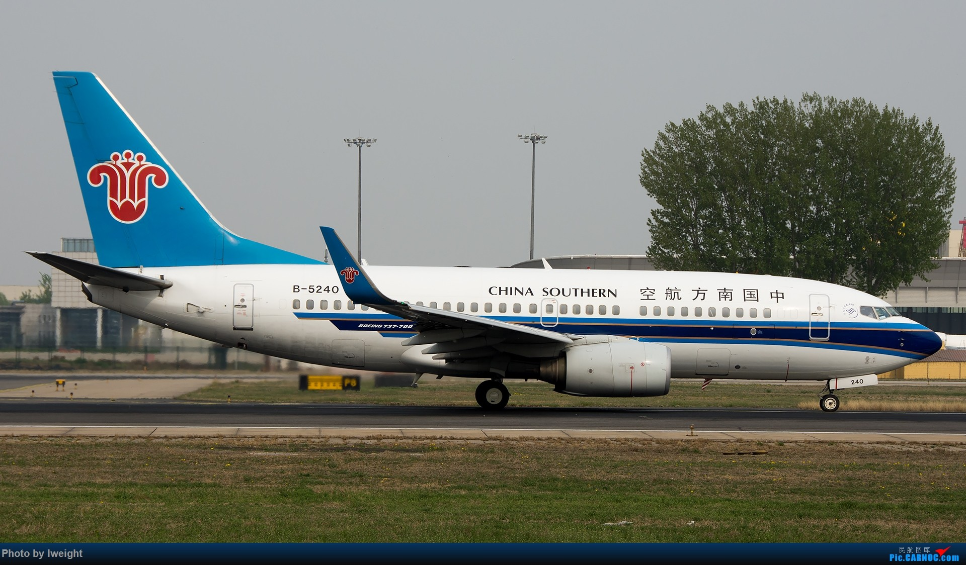 Re:[原创]霾,18R,高密度 BOEING 737-700 B-5240 中国北京首都国际机场