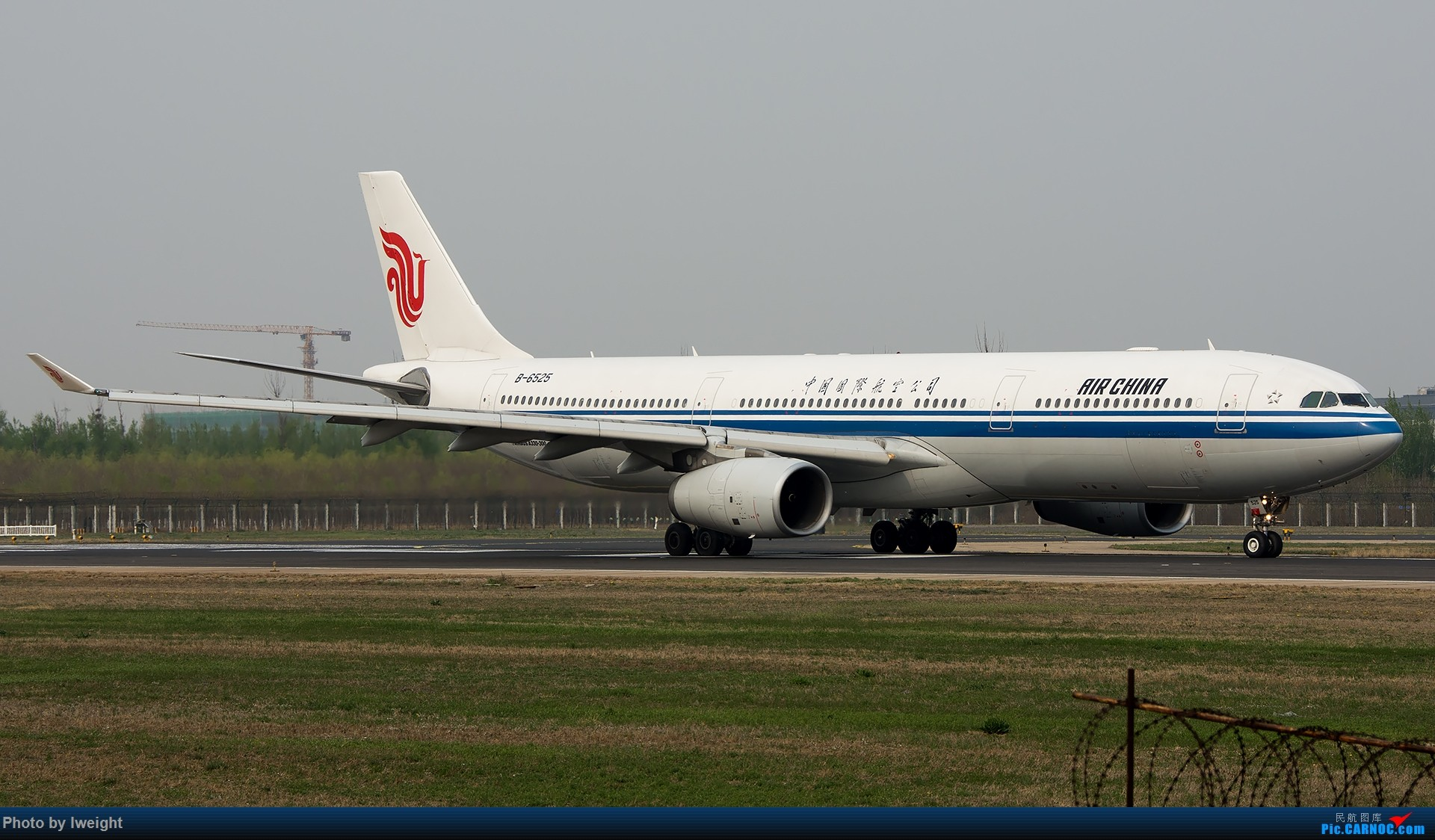 Re:[原创]霾,18R,高密度 AIRBUS A330-300 B-6525 中国北京首都国际机场