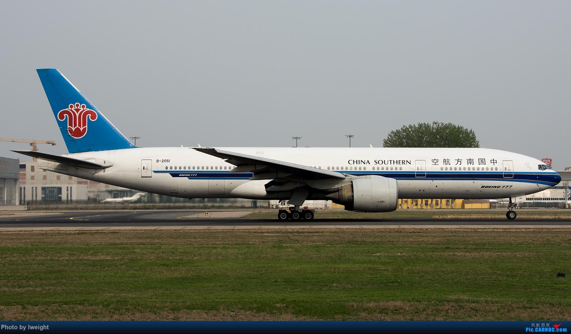 Re:[原创]霾,18R,高密度 BOEING 777-200 B-2051 中国北京首都国际机场