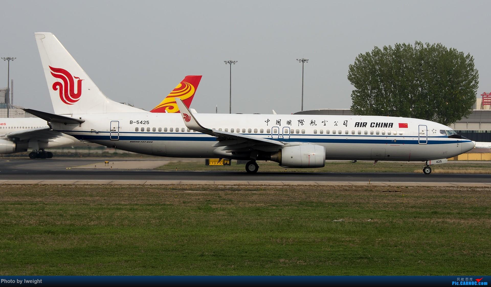 Re:[原创]霾,18R,高密度 BOEING 737-800 B-5425 中国北京首都国际机场