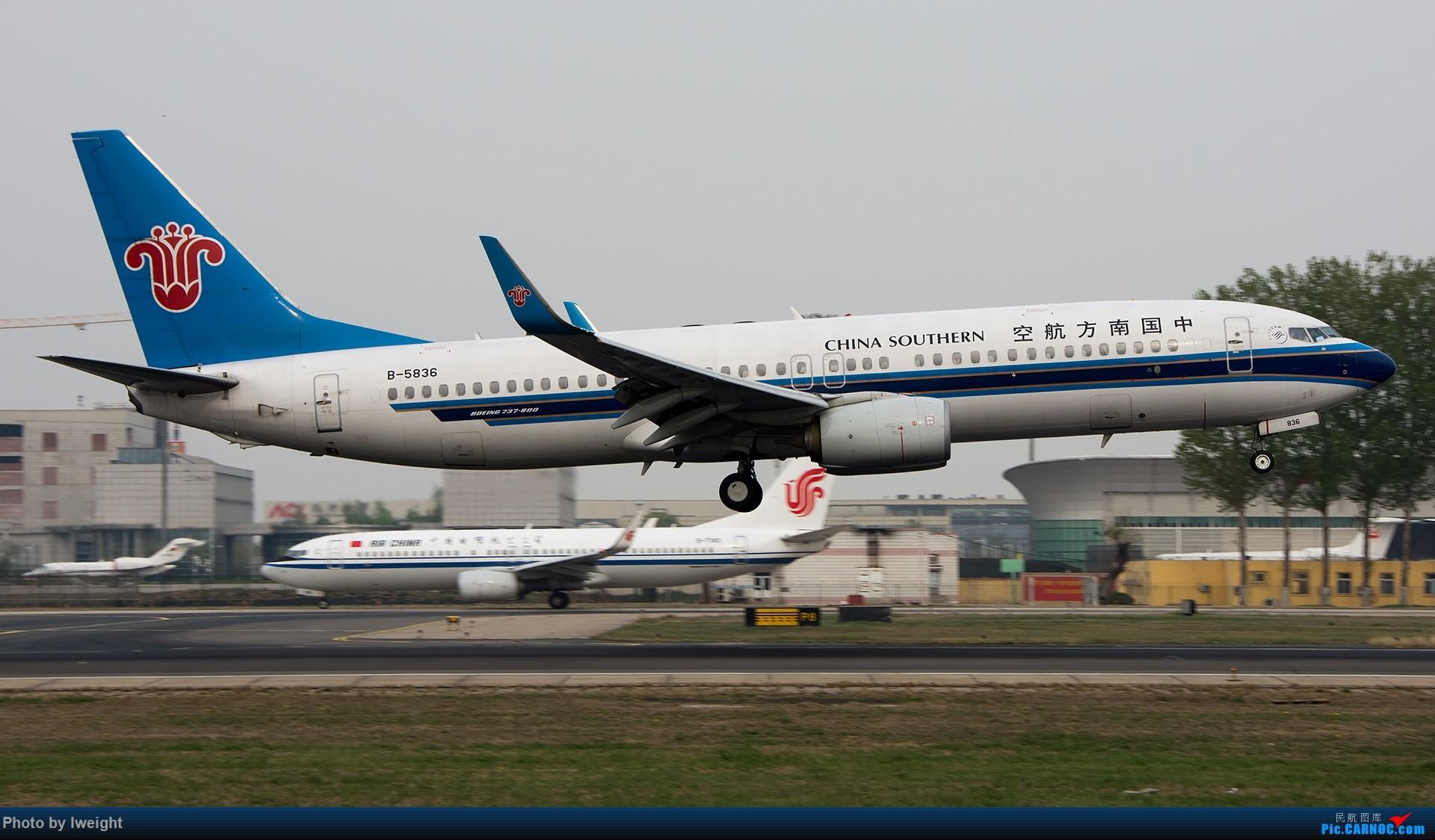 Re:[原创]霾,18R,高密度 BOEING 737-800 B-5836 中国北京首都国际机场