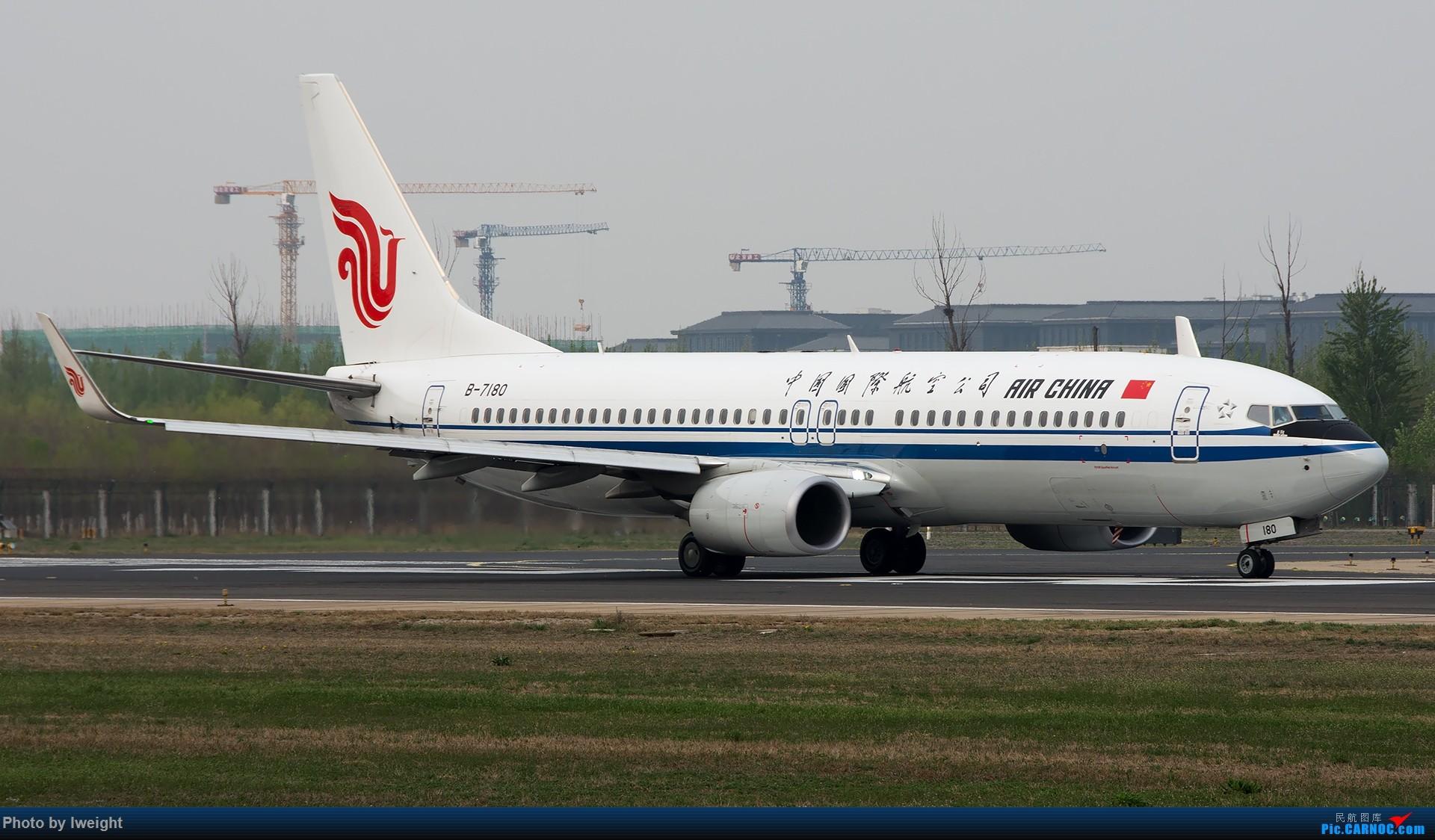 Re:[原创]霾,18R,高密度 BOEING 737-800 B-7180 中国北京首都国际机场