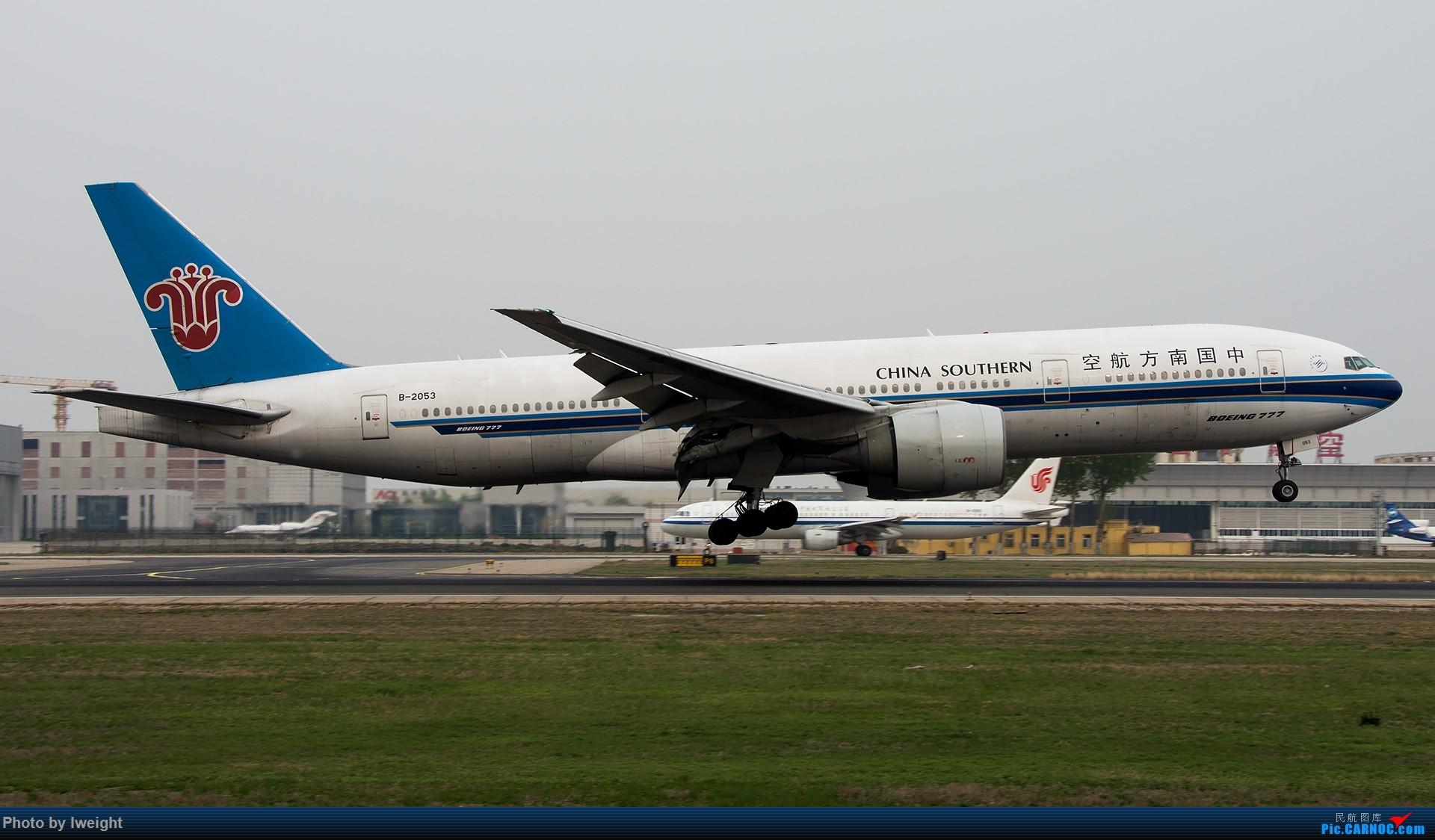 Re:[原创]霾,18R,高密度 BOEING 777-200 B-2053 中国北京首都国际机场