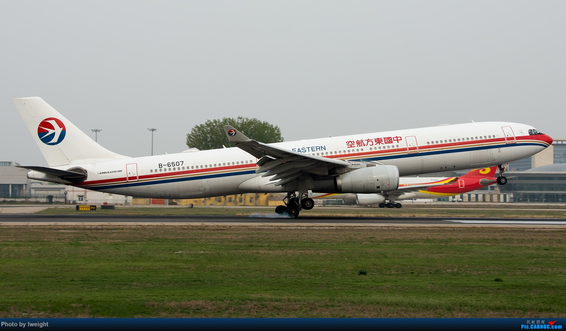 Re:[原创]霾,18R,高密度 AIRBUS A330-300 B-6507 中国北京首都国际机场