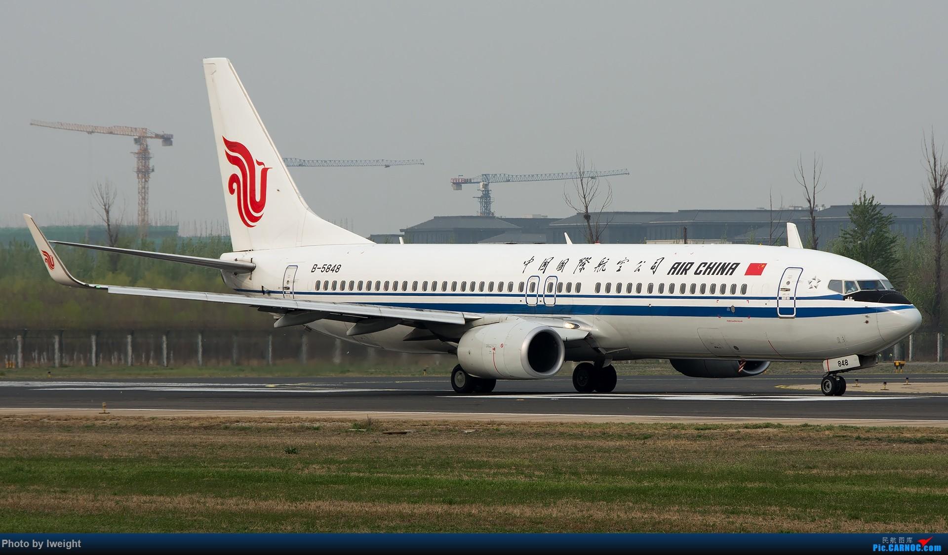 Re:[原创]霾,18R,高密度 BOEING 737-800 B-5848 中国北京首都国际机场