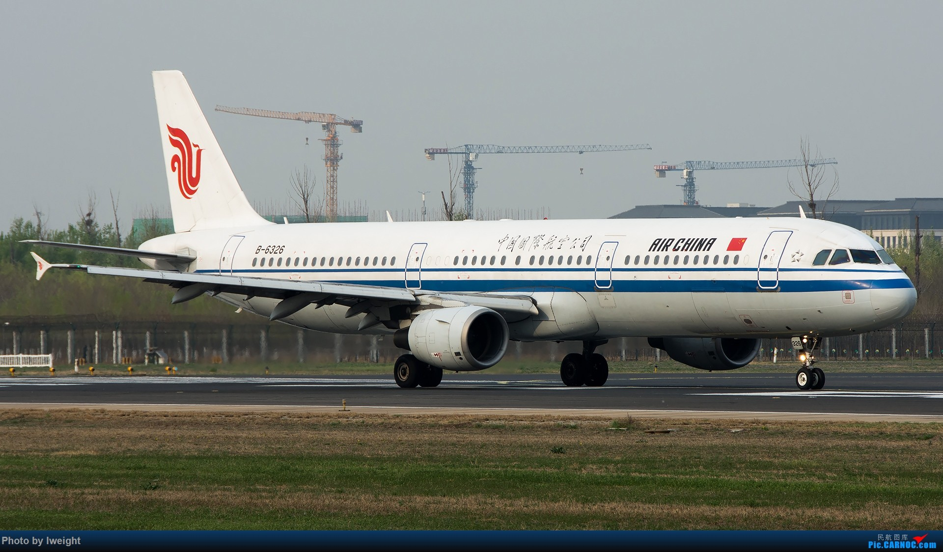Re:[原创]霾,18R,高密度 AIRBUS A321-200 B-6326 中国北京首都国际机场