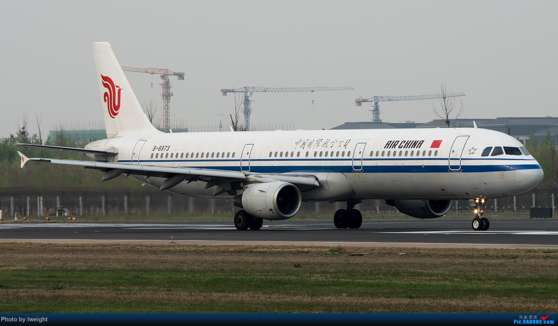 Re:[原创]霾,18R,高密度 AIRBUS A321-200 B-6973 中国北京首都国际机场