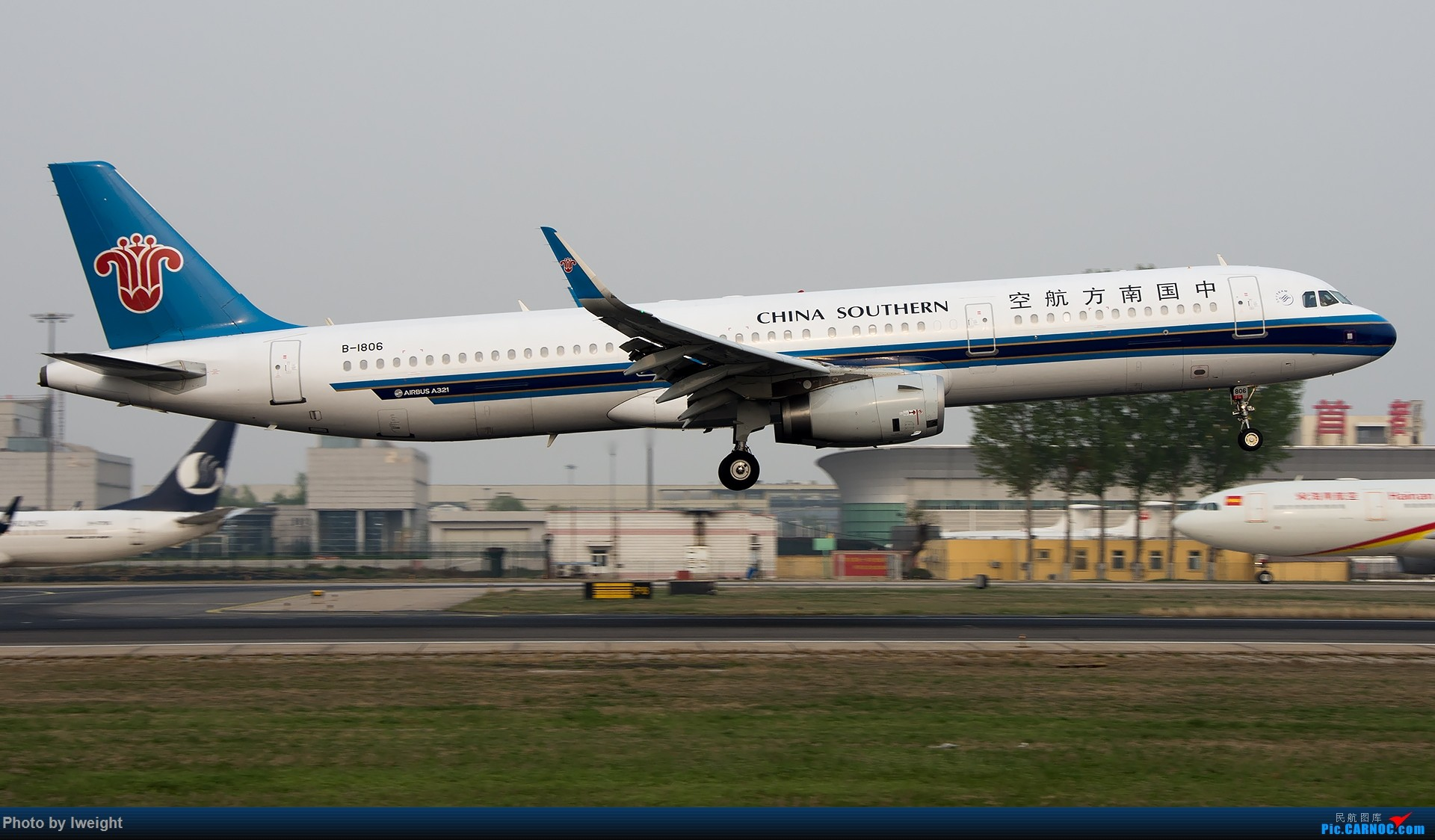 Re:[原创]霾,18R,高密度 AIRBUS A321-200 B-1806 中国北京首都国际机场