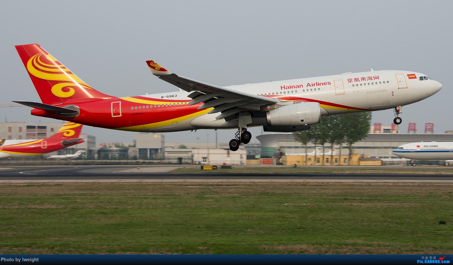 Re:[原创]霾,18R,高密度 AIRBUS A330-200 B-5963 中国北京首都国际机场