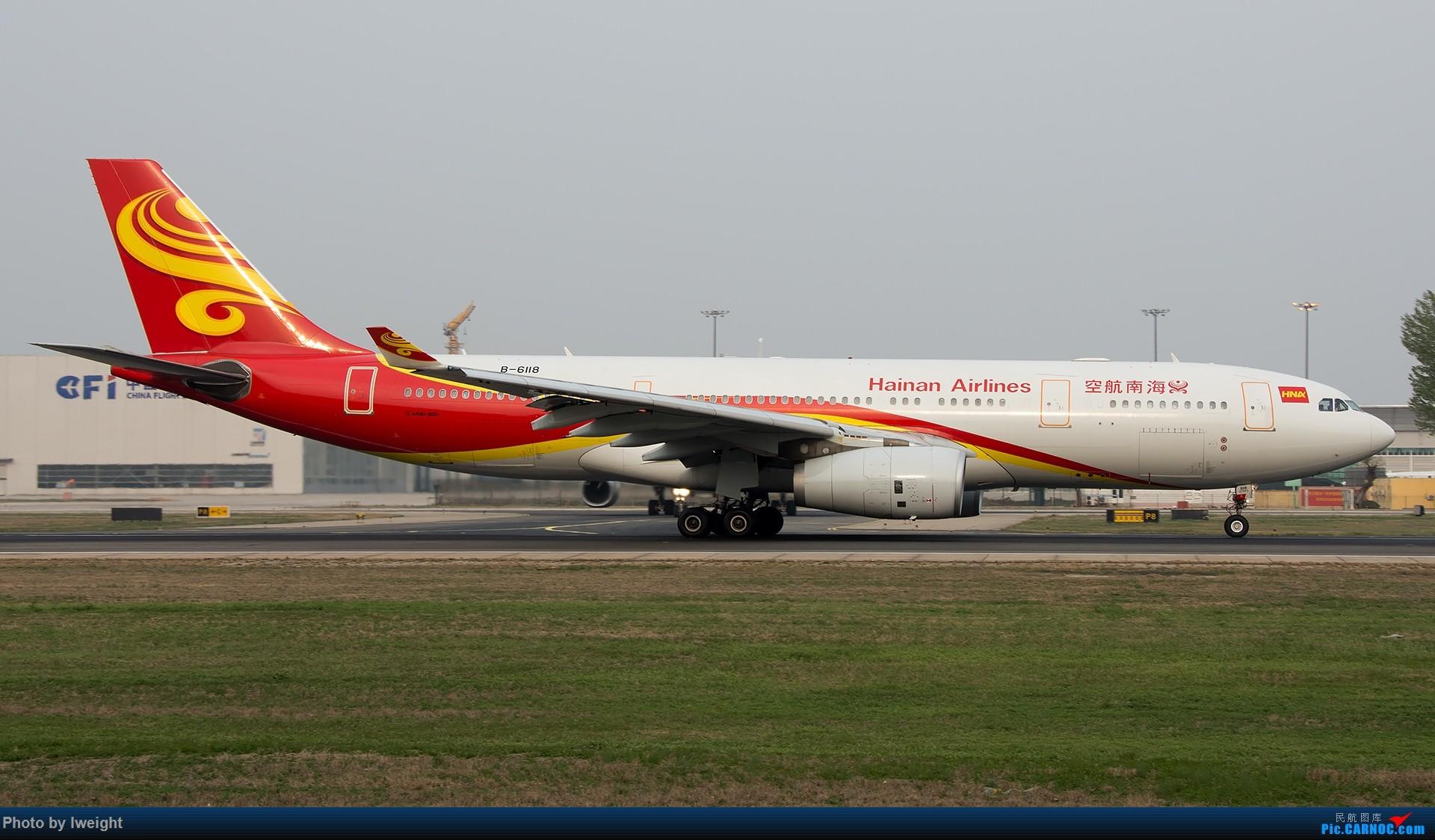 Re:[原创]霾,18R,高密度 AIRBUS A330-200 B-6118 中国北京首都国际机场
