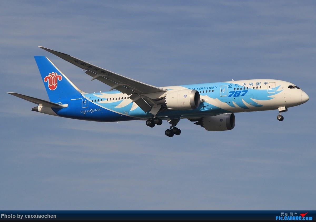 [原创]午后的天山西路日常—宽体系列 BOEING 787-8 B-2727 中国上海虹桥国际机场