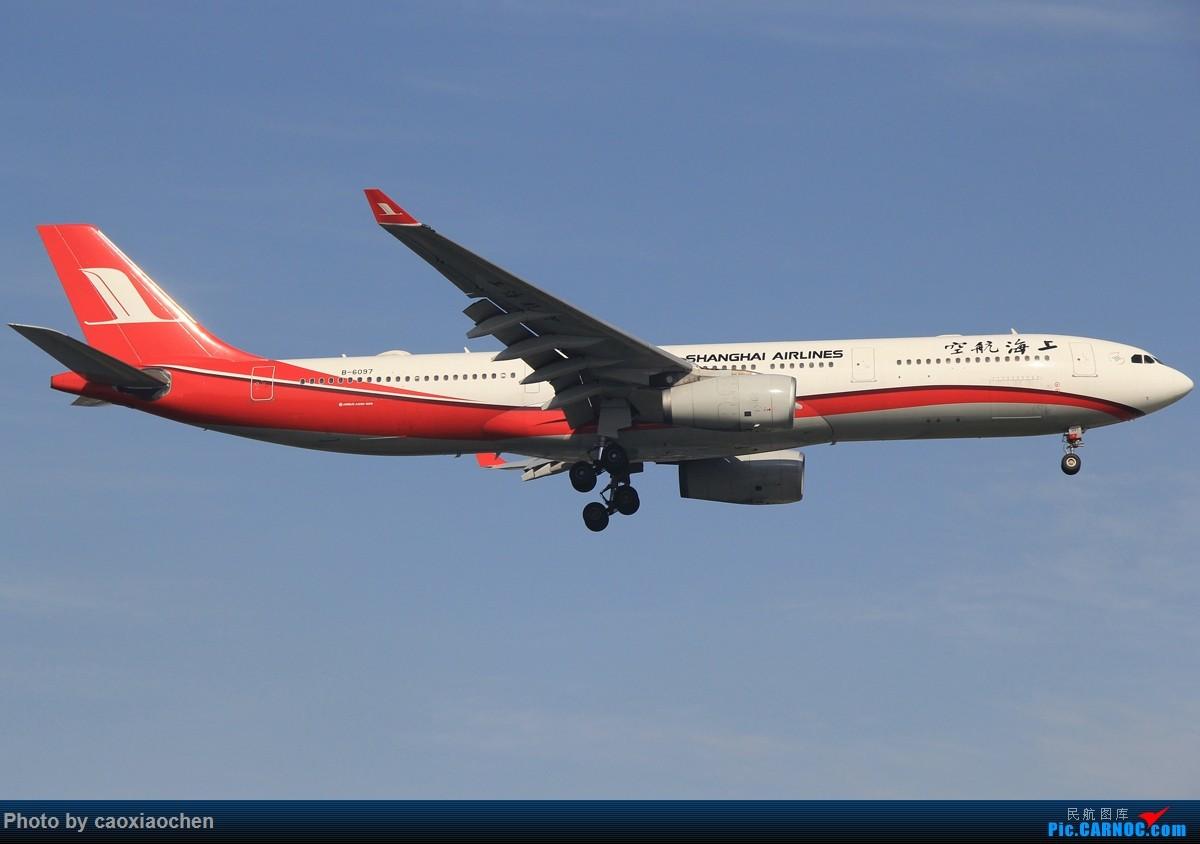 Re:[原创]午后的天山西路日常—宽体系列 AIRBUS A330-300 B-6097 中国上海虹桥国际机场