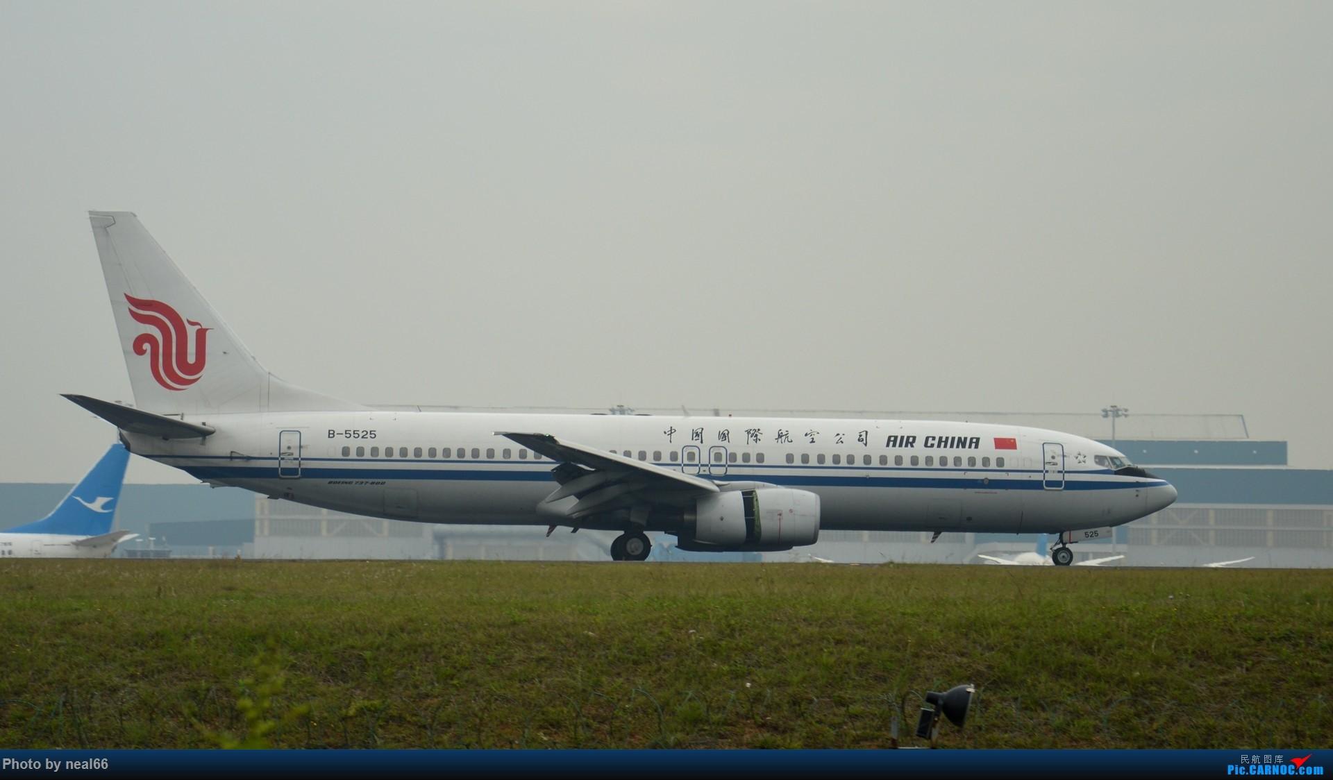 Re:[原创]来组杂图 BOEING 737-800 B-5525 中国厦门高崎国际机场