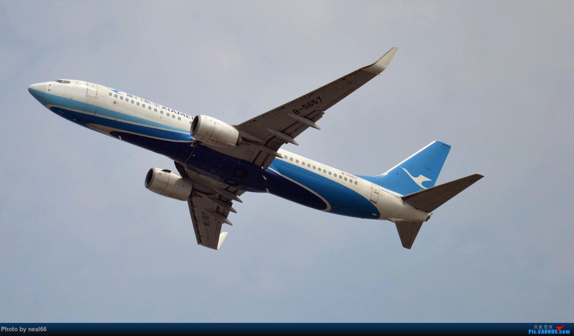 Re:[原创]来组杂图 BOEING 737-800 B-5657 中国厦门高崎国际机场