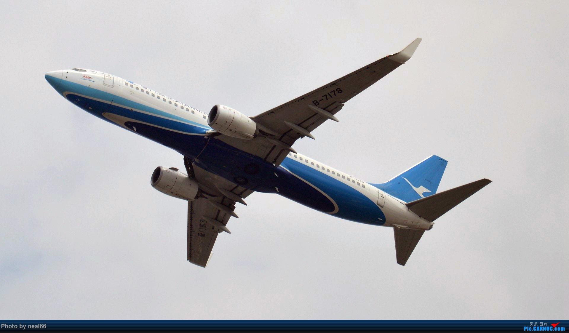 Re:[原创]来组杂图 BOEING 737-800 B-7178 中国厦门高崎国际机场